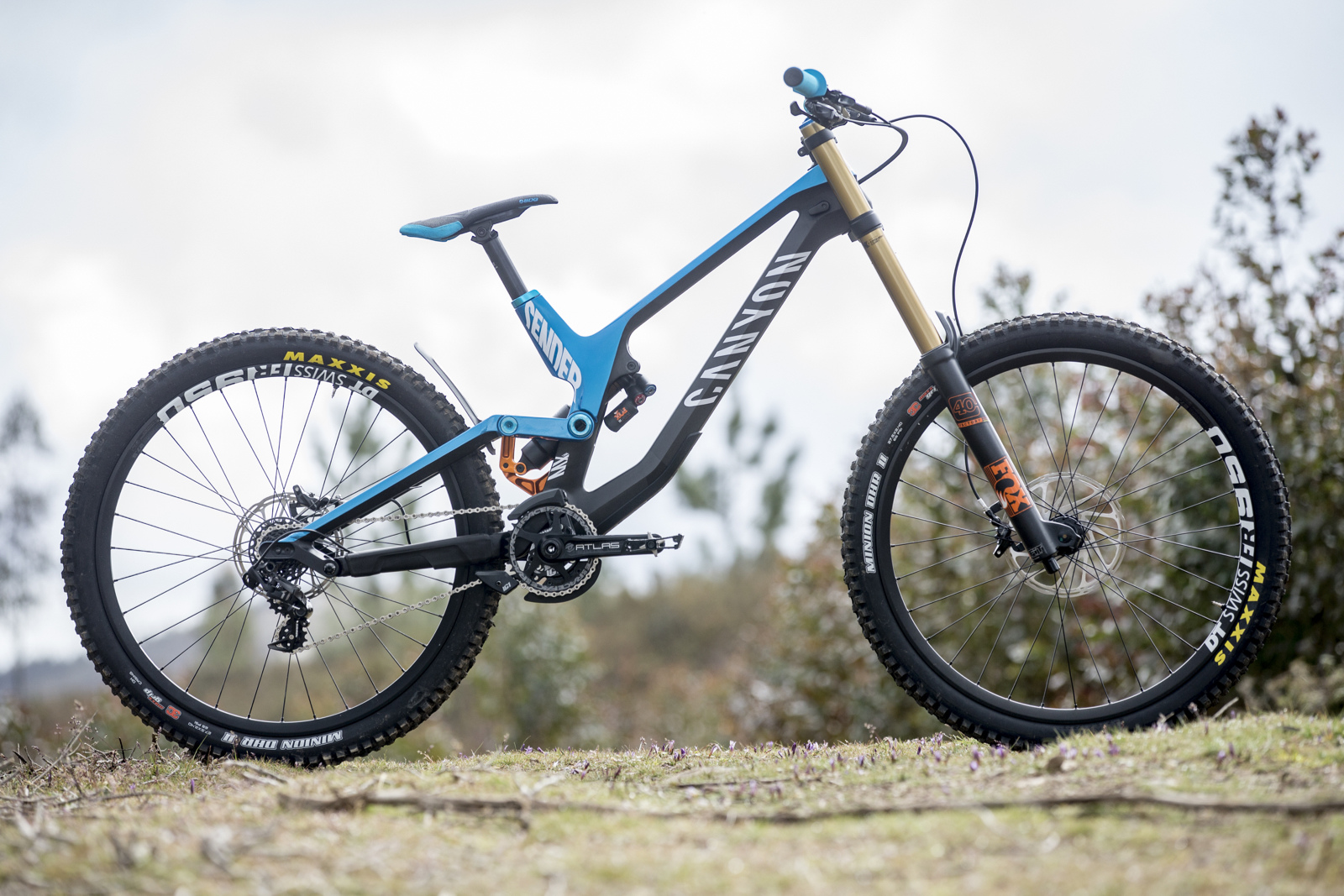 Canyon Sender - Pinkbike First Look.