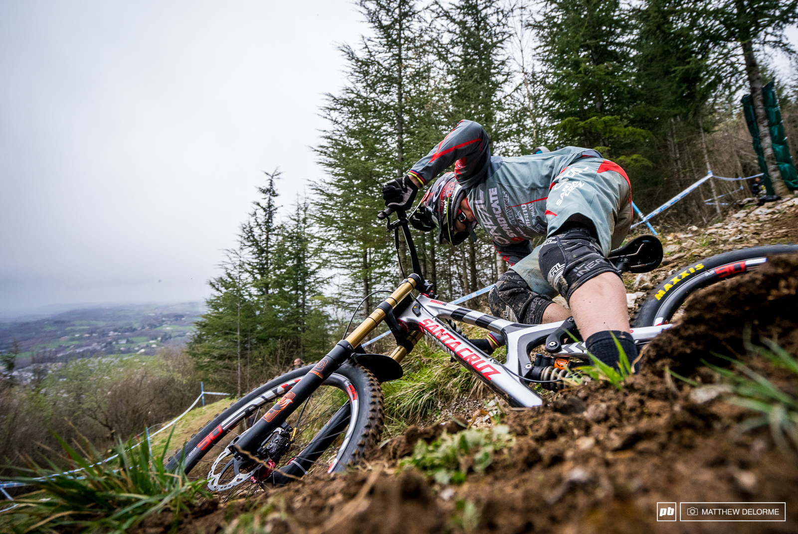 Greg Minnaar ripping his XXL V10. We will have an in depth look at this beast very soon.