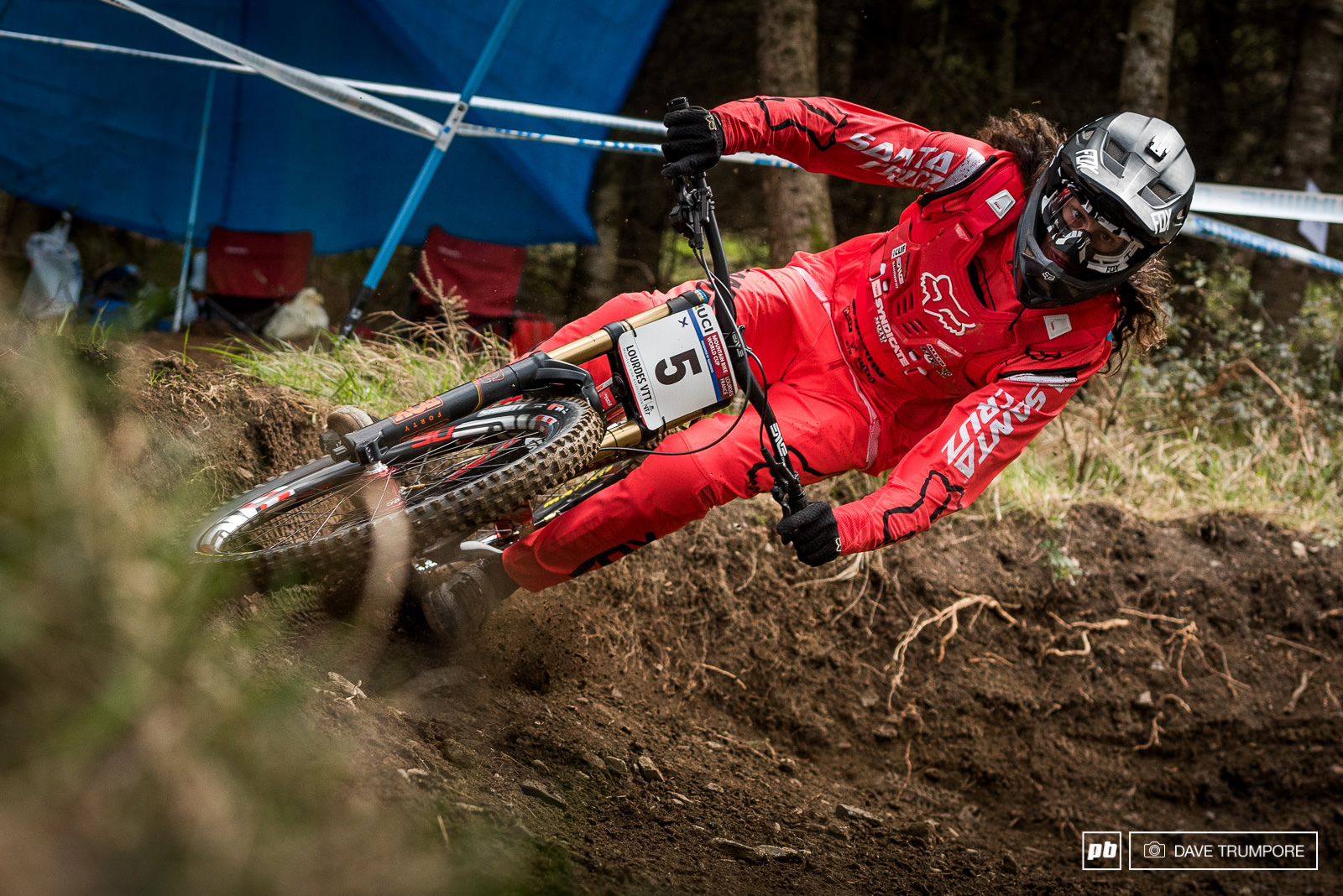 Fit fast and confident... The Rat is on form in Lourdes.