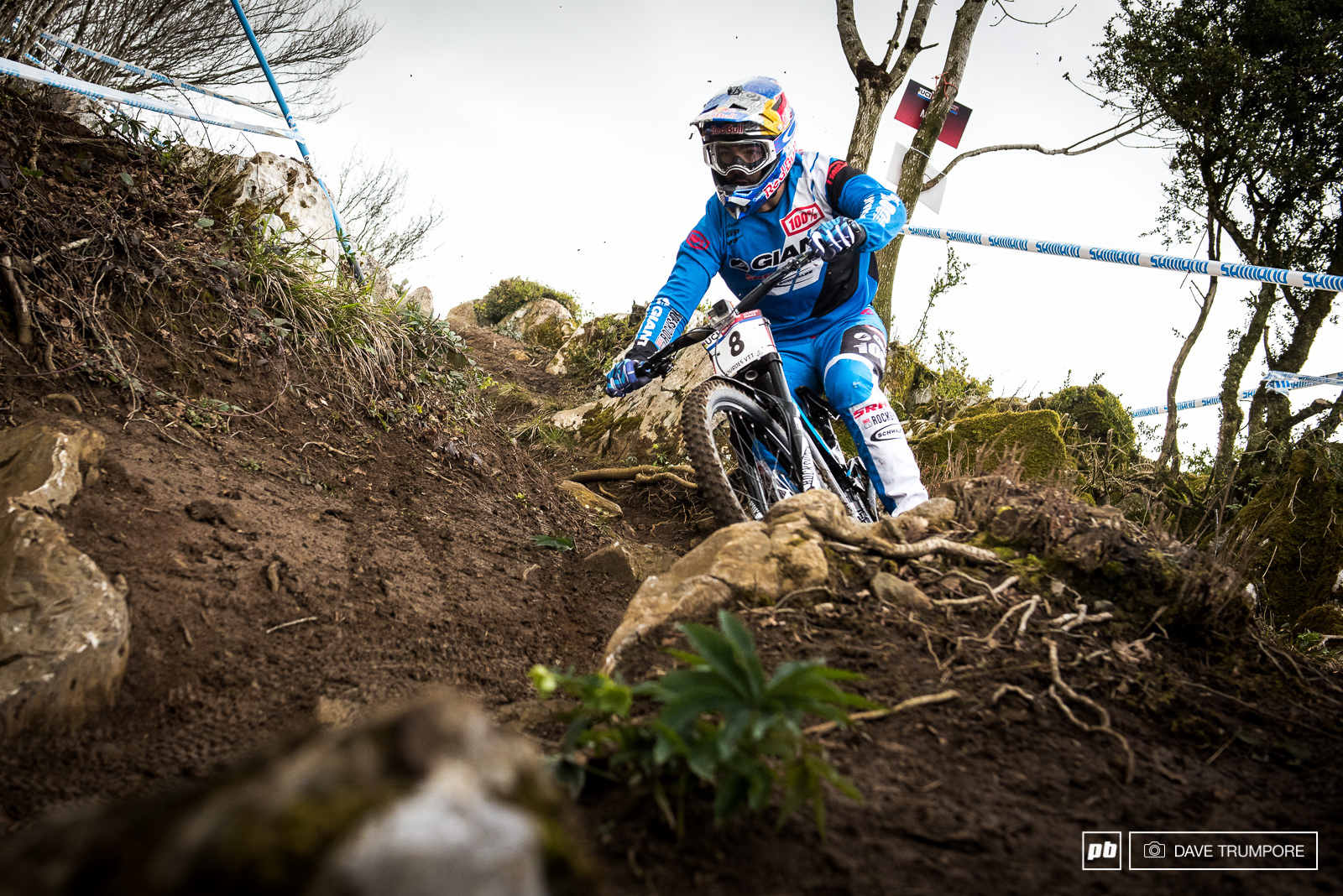 Pinned and confident all day no matter the conditions for Marcelo Gutierrez.