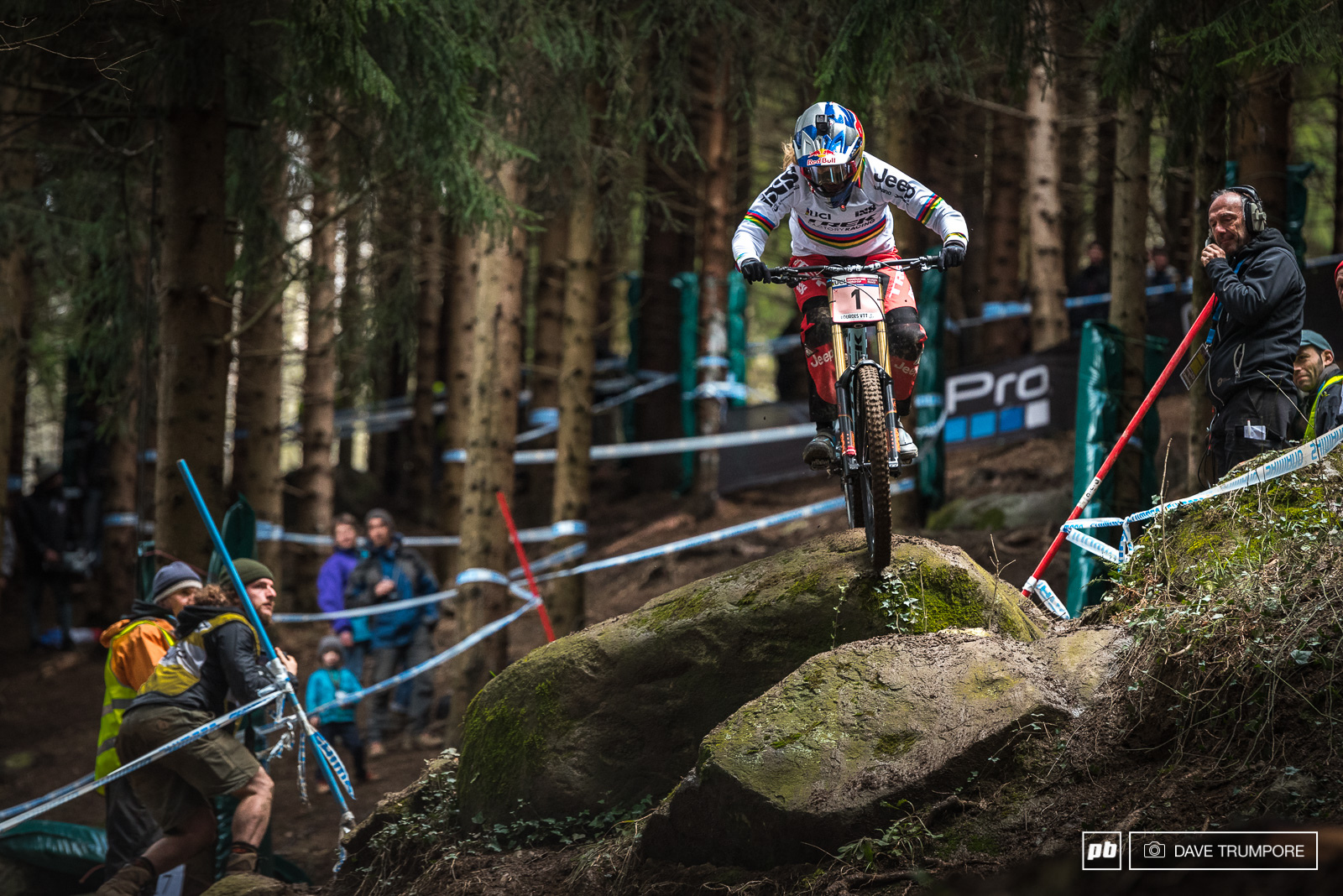 Another race and another victory for Rachel Atherton but this one was hard fought and definitely did not come easy.