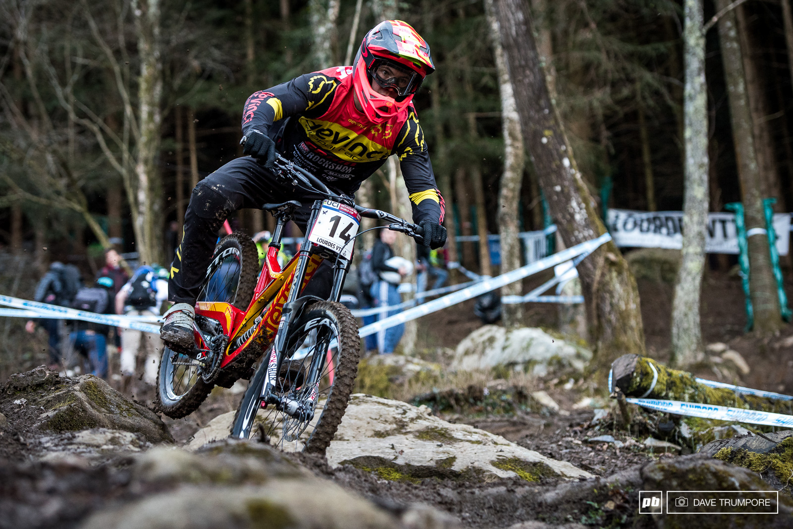 Devinci had an excellent showing with Stevie in second and Mark Wallace in 8th