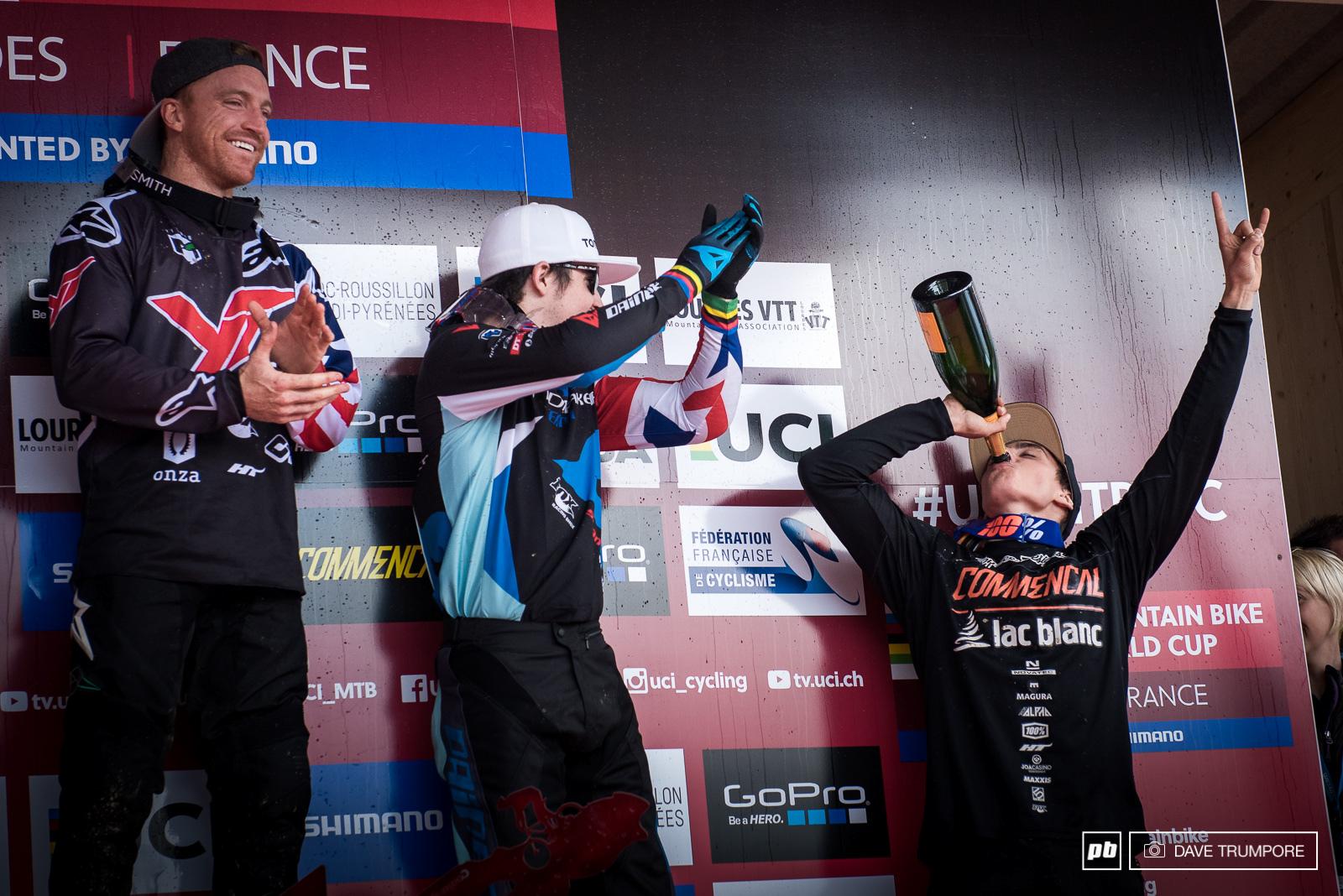 Welcome to the podium Amaury Pierron.