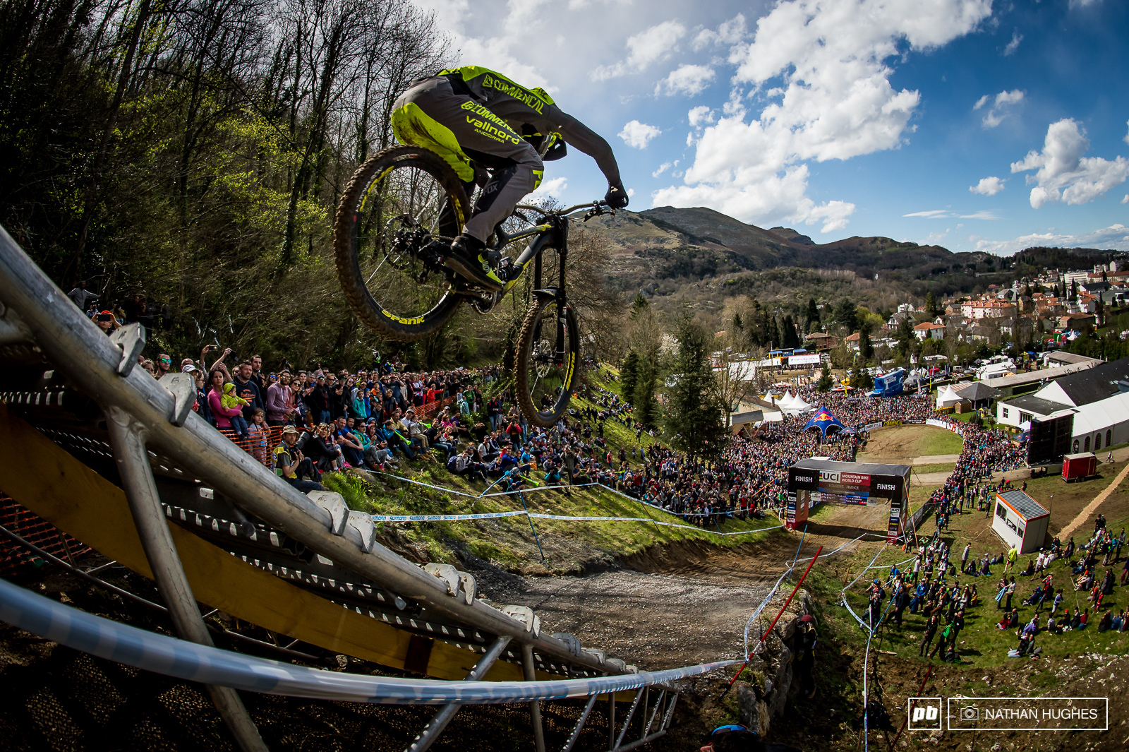 Images from Lourdes DH finals 2016