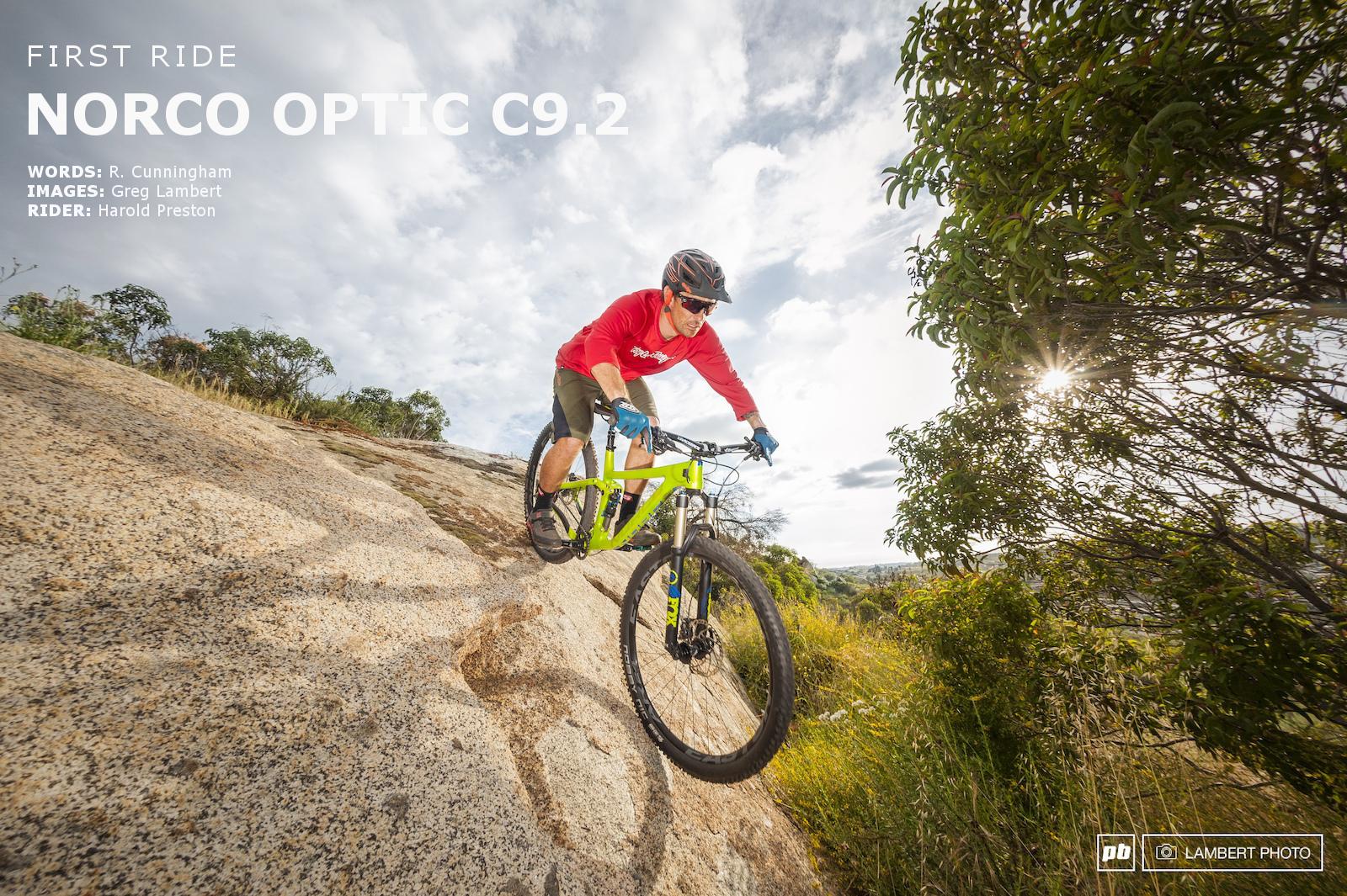 9c691f26e4f Norco Optic - First Ride - Pinkbike