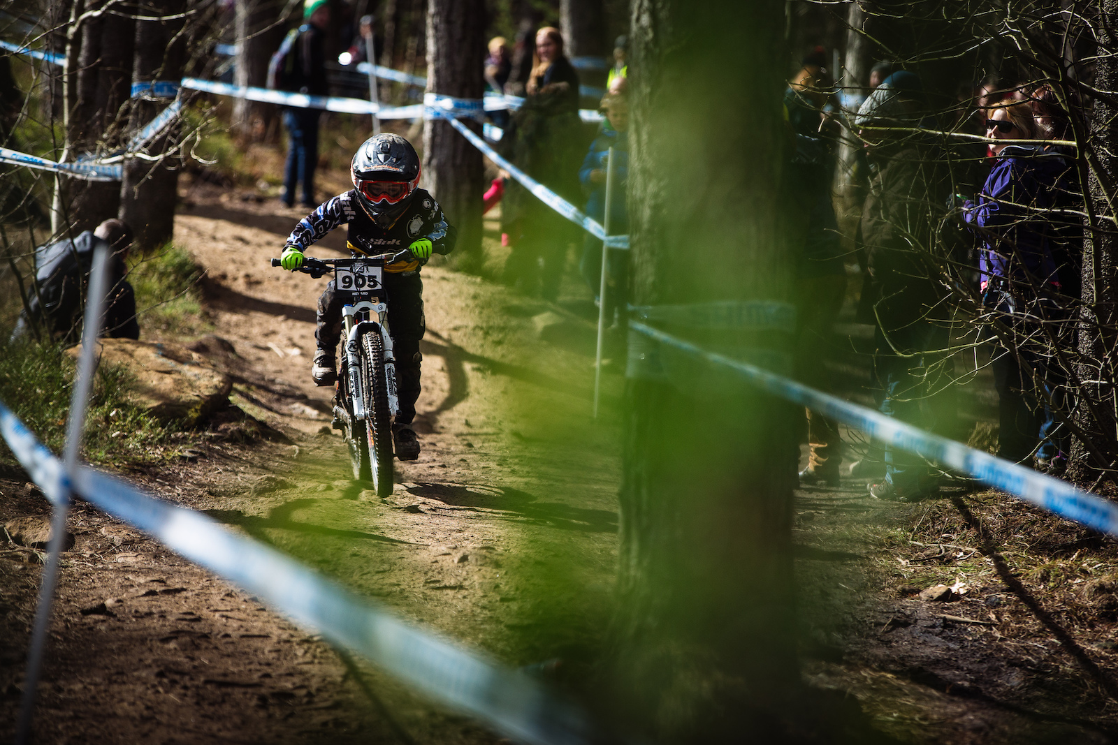 10-12 boys - 2nd place rider Kenzie Nevard. The diversity of entrants was astounding. Riders spanning at least three generations came to compete at all levels in Grenoside.