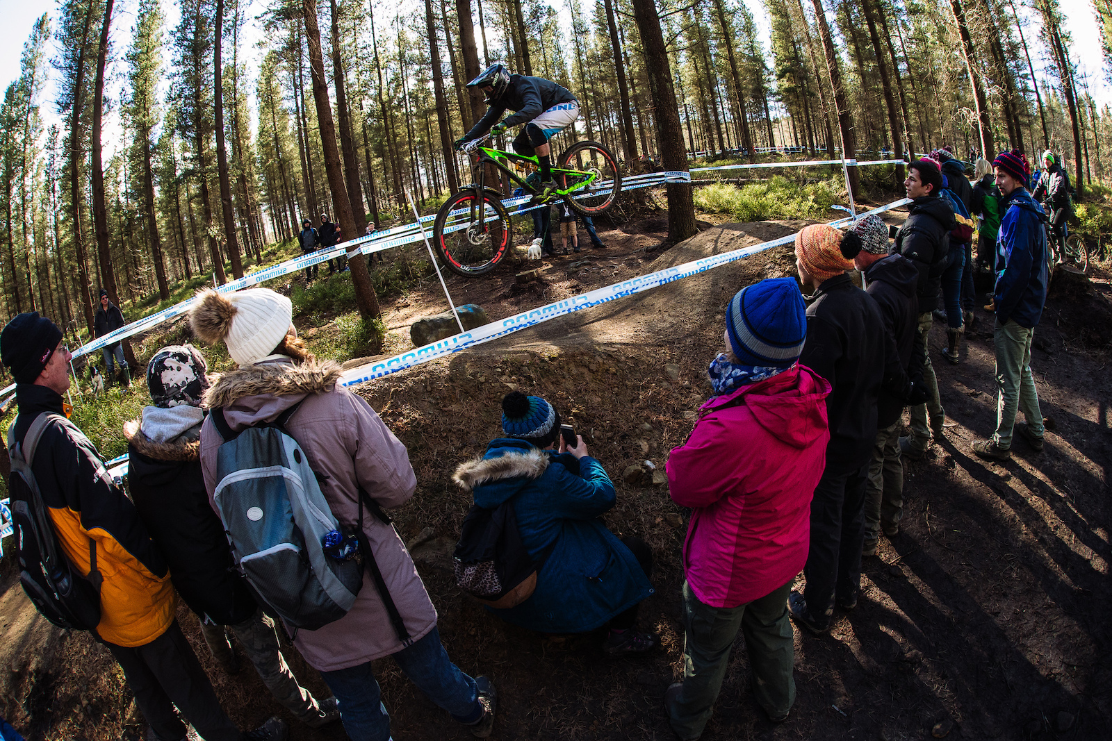 Jim Buchanan the UK editor of Enduro Mag came to race at the Steel City DH again. He couldn t quite match his 4th place of last year and settled for 9th instead.