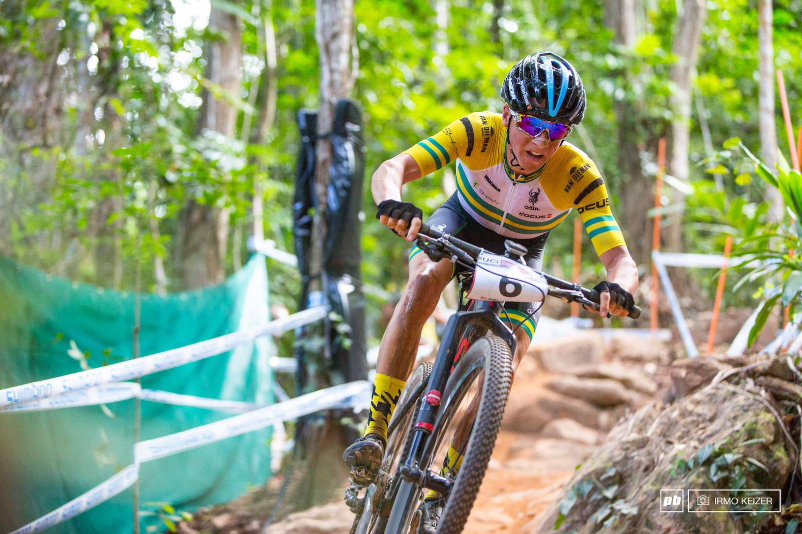 Scott Bowden your fastest U23 Aussie.