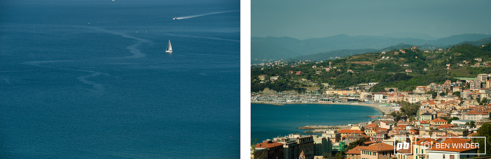 Varazze is pretty stunning clear blue waters and hills that grow rapidly as the eye moves away from the sea.