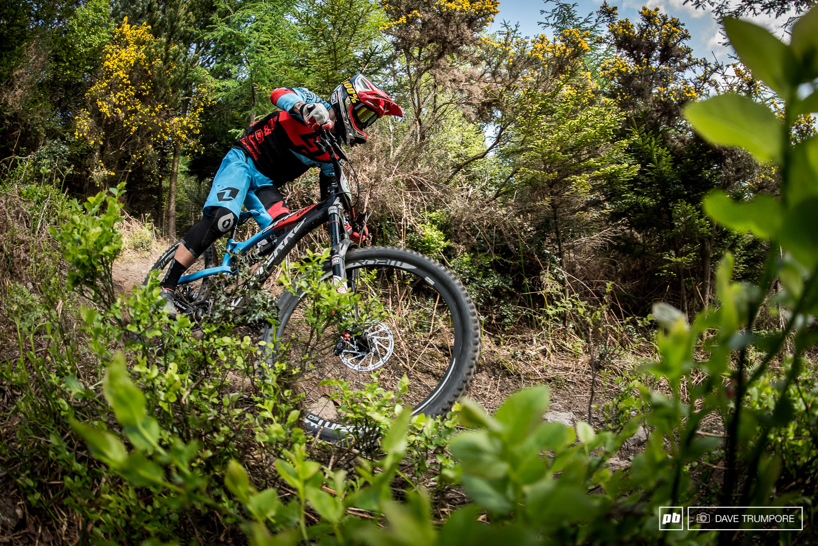 Broken fingers would unfortunately slow Adrien Daly down this weekend in the U21 race.
