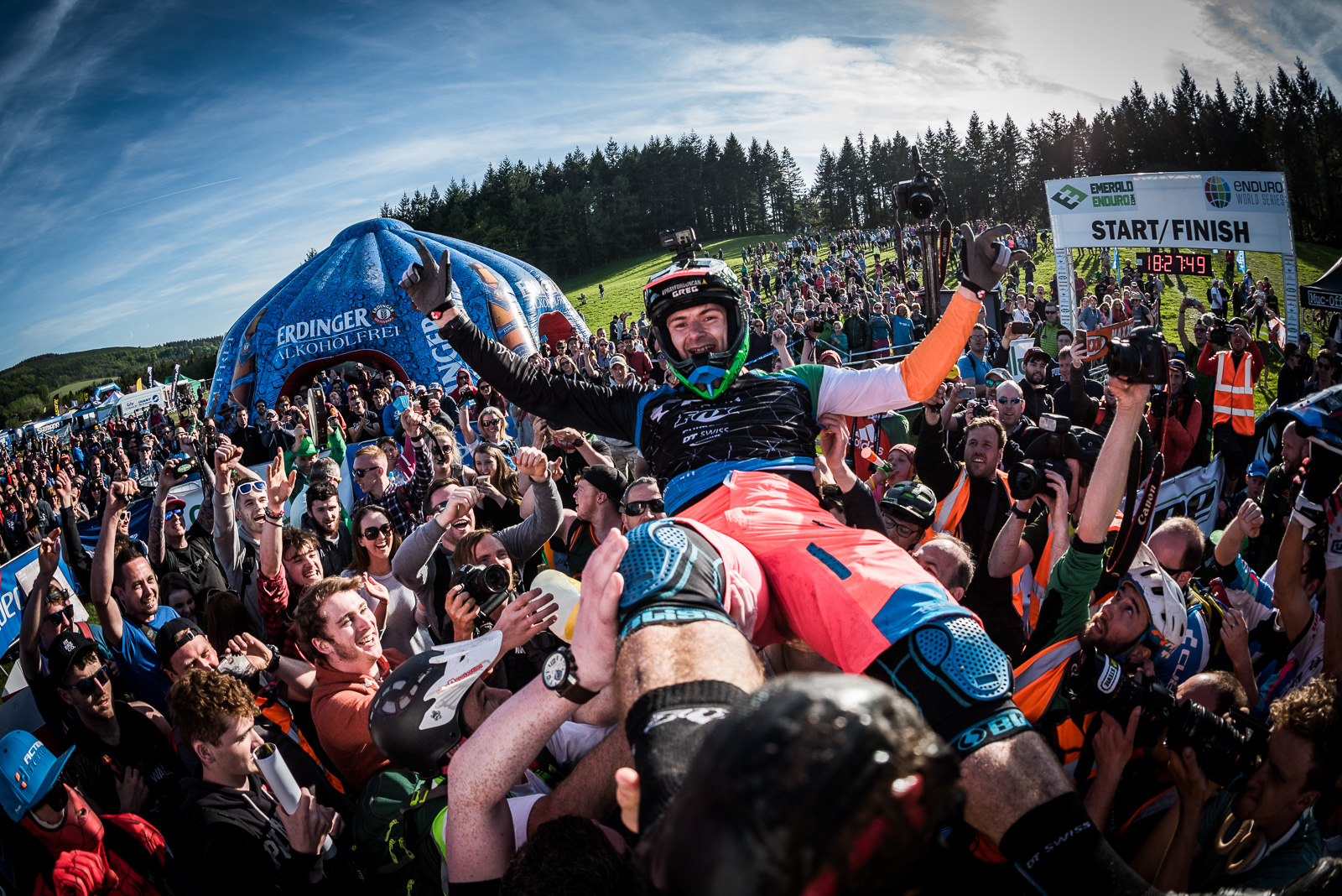 IMages from Luck of the Irish Race Day - EWS Round 3 Ireland article