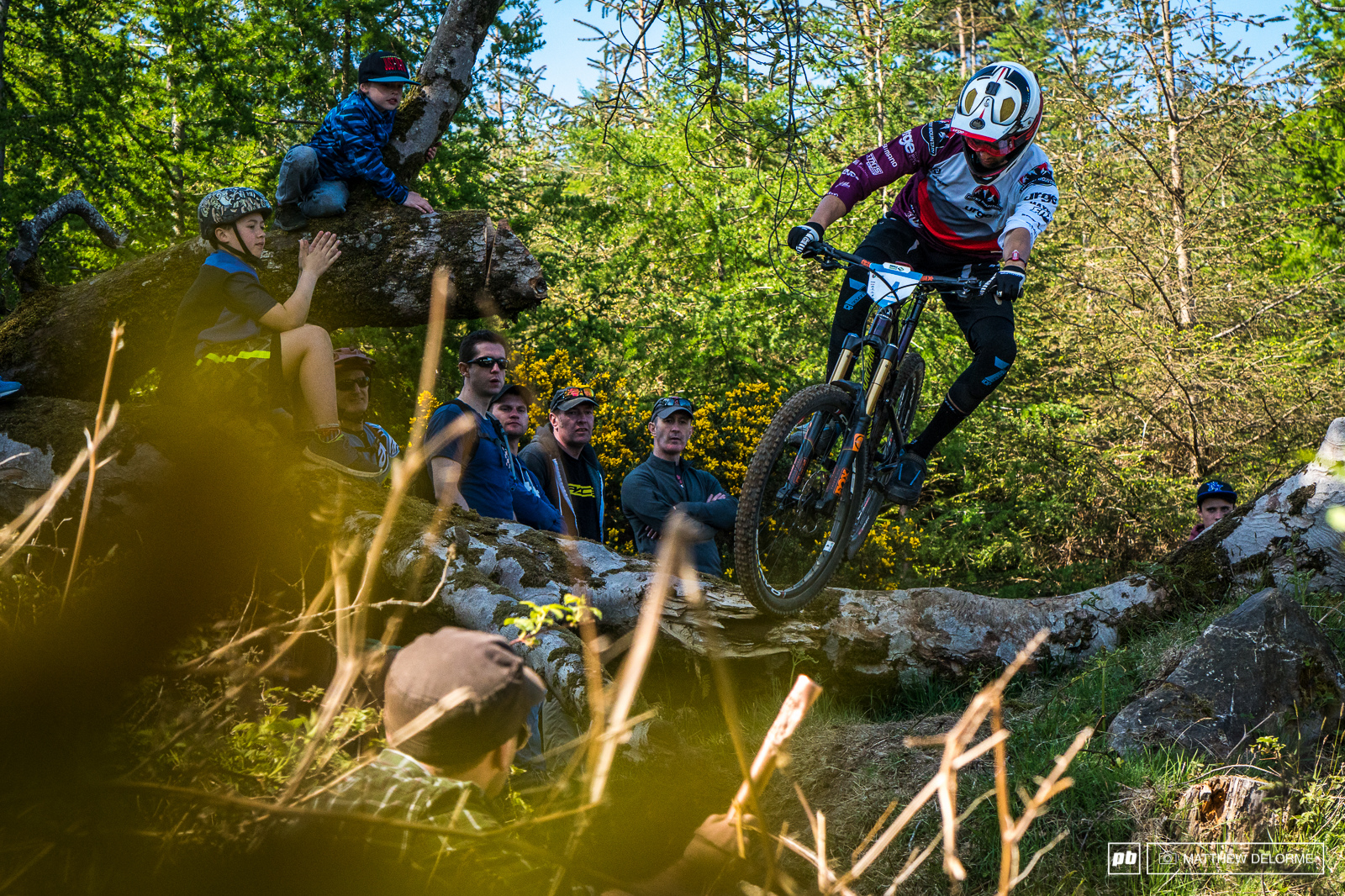 Florian Nicolai took fifth place in the over all today.