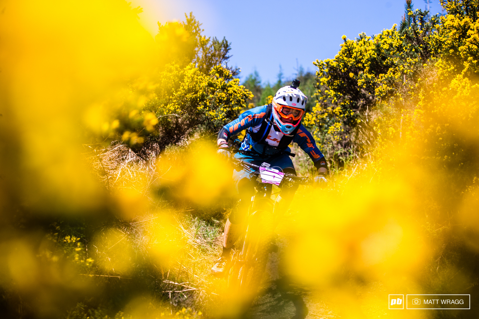After a pretty brutal crash this winter that left her with two broken wrists Meg Bichard made her return to the EWS this weekend with a steady 10th.