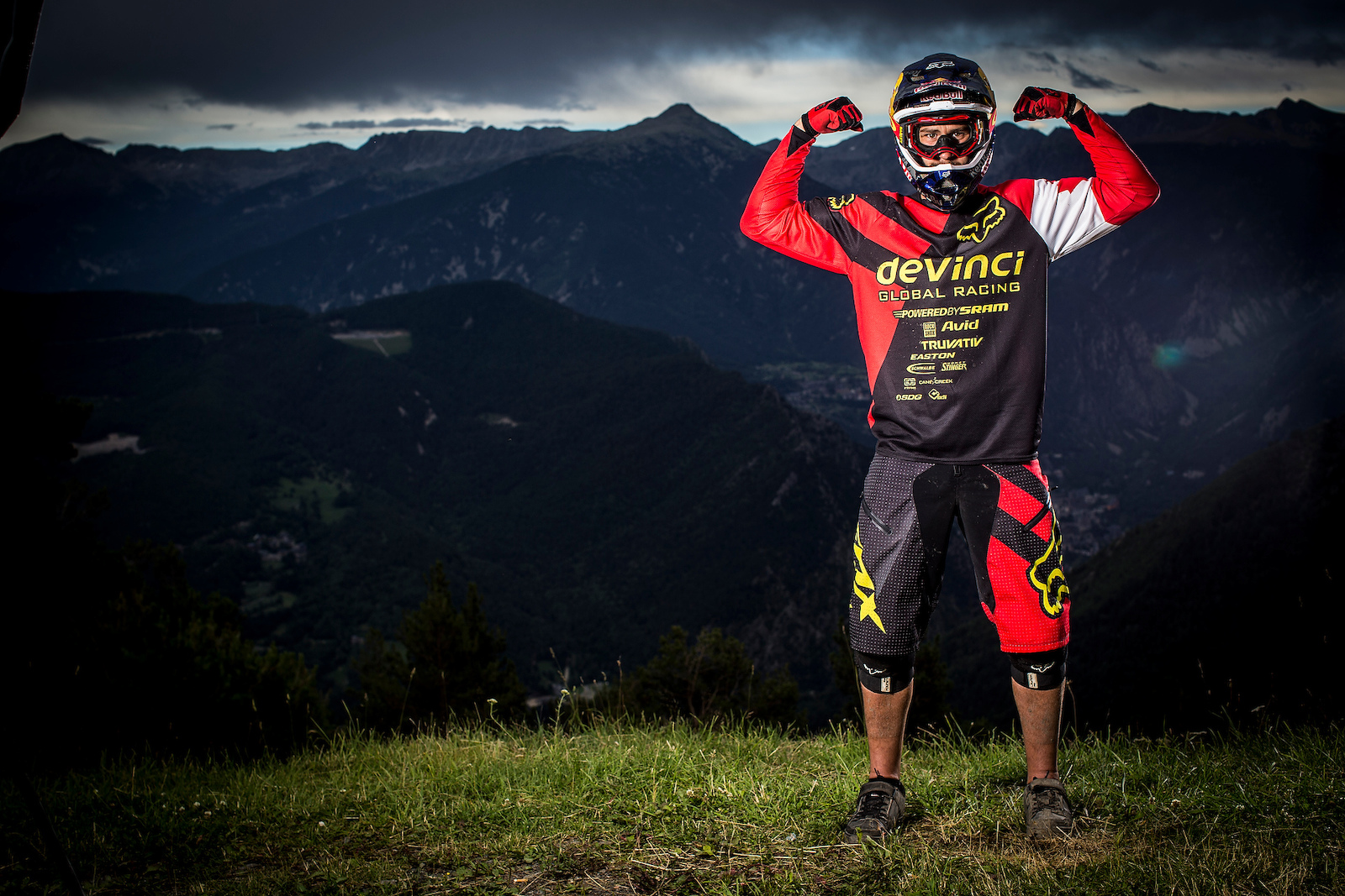 At UCI MTB World Cup Valnord Andorra. Womens XCO. Photo Sven Martin