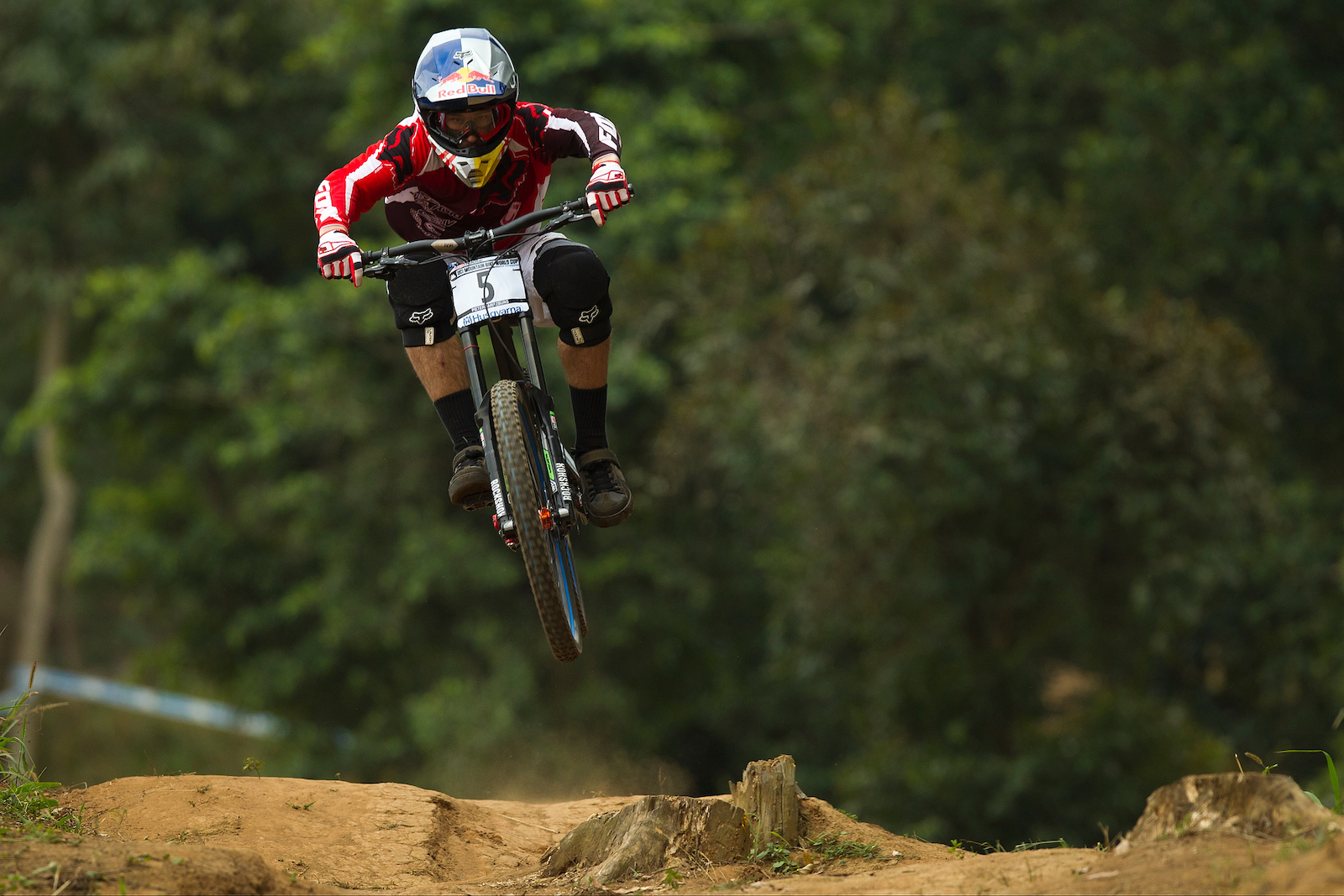 during the first round of the UCI MTB World Cup held in Pietermaritzburg South Africa. Photo Sven Martin