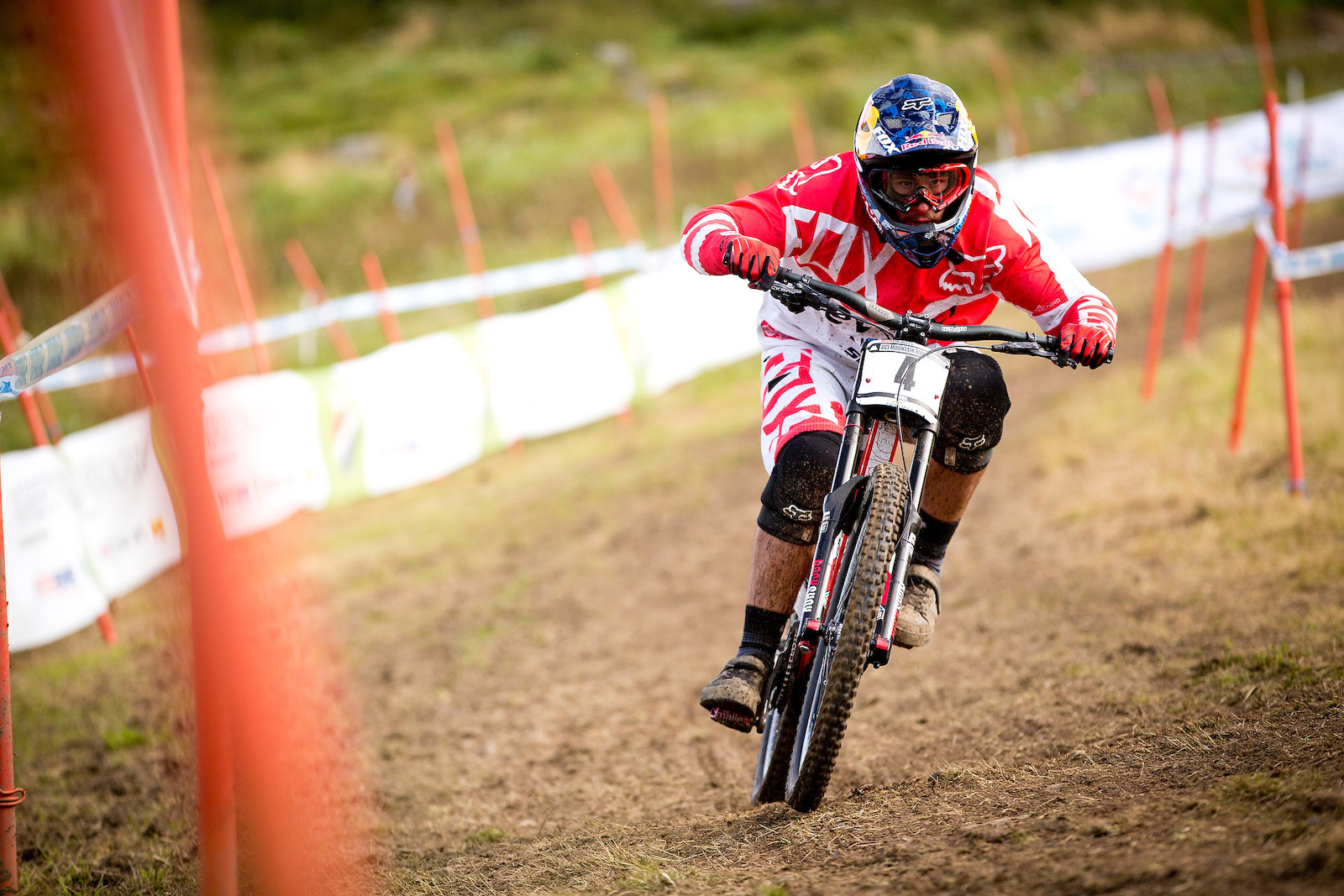 during the 2012 UCI World Cup Hafjell Norway. Photo Sven Martin
