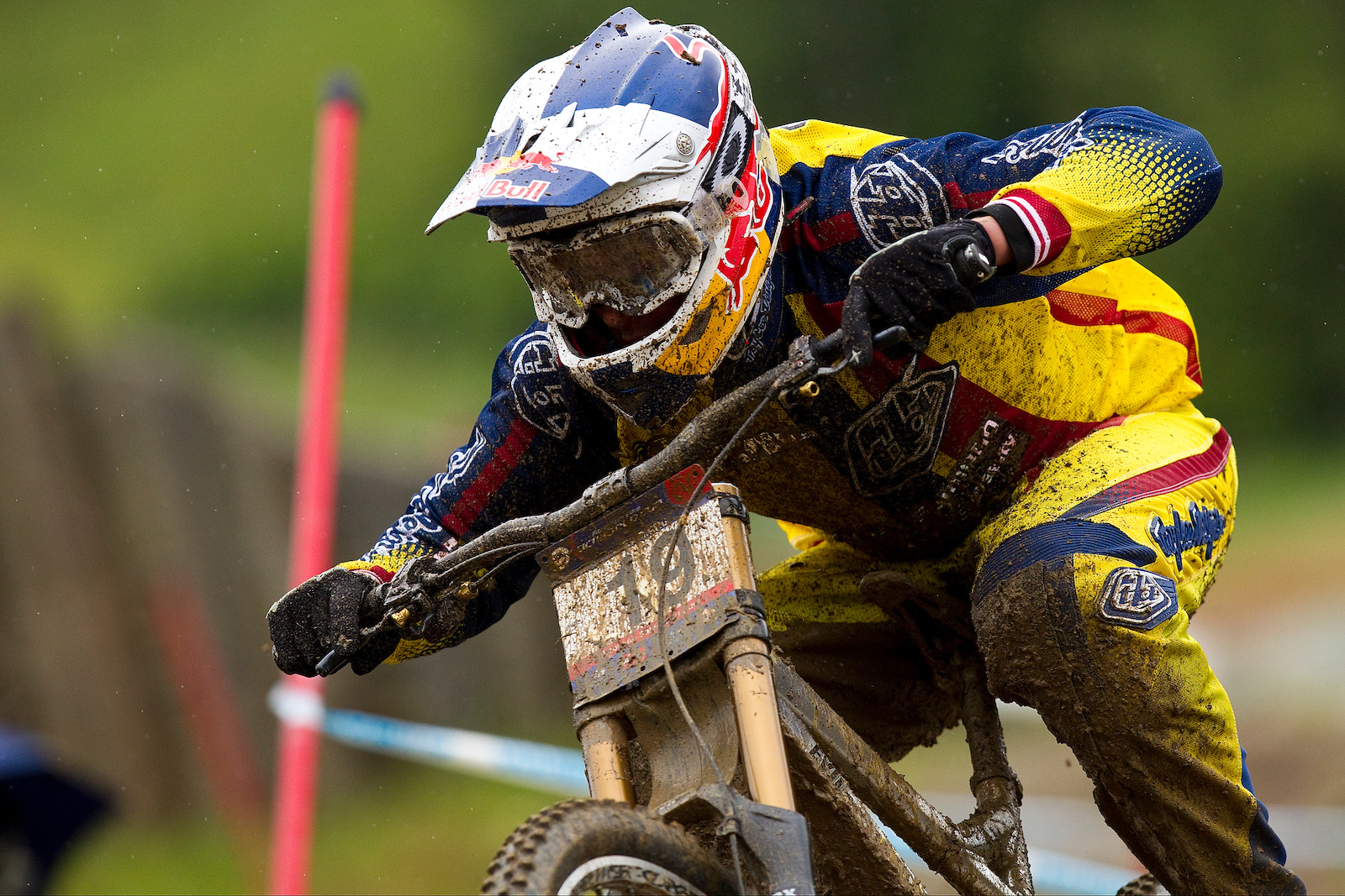 during the UCI WC round in Leogang Austria 2010 Photo by Sven Martin