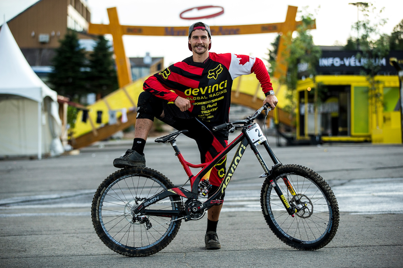 At UCI MTB World Cup MT ST ANNE Quebec canada Photo Sven Martin