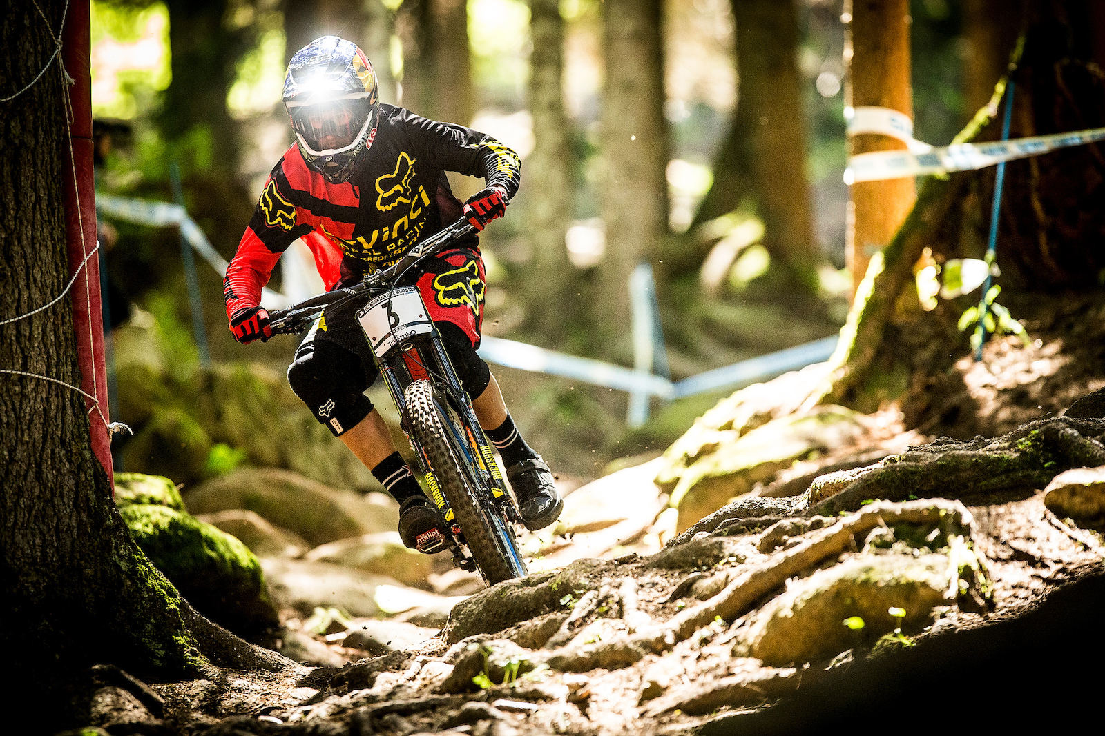 at the 2013 UCI MTB World Cup. Ft William Scotland. Photo Sven Martin