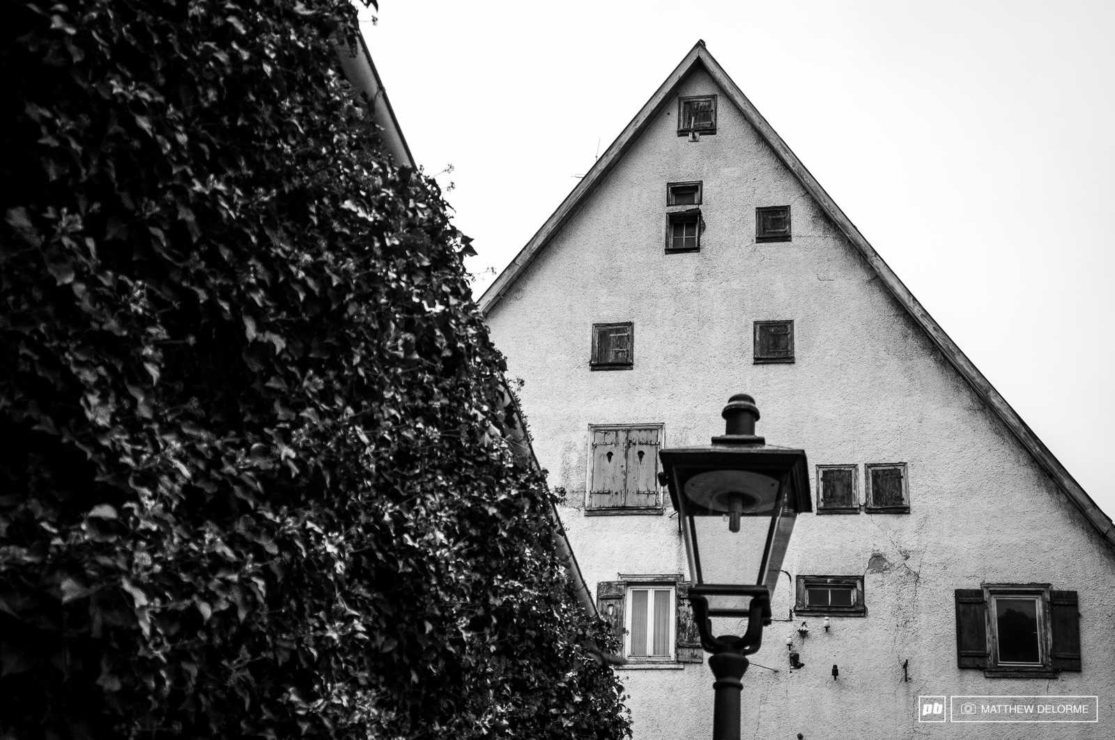The side streets of Albstadt transport you to another time. Perhaps one where you are lured into a pointy roofed house by a lady with candy who might roast you in a wood fired oven.