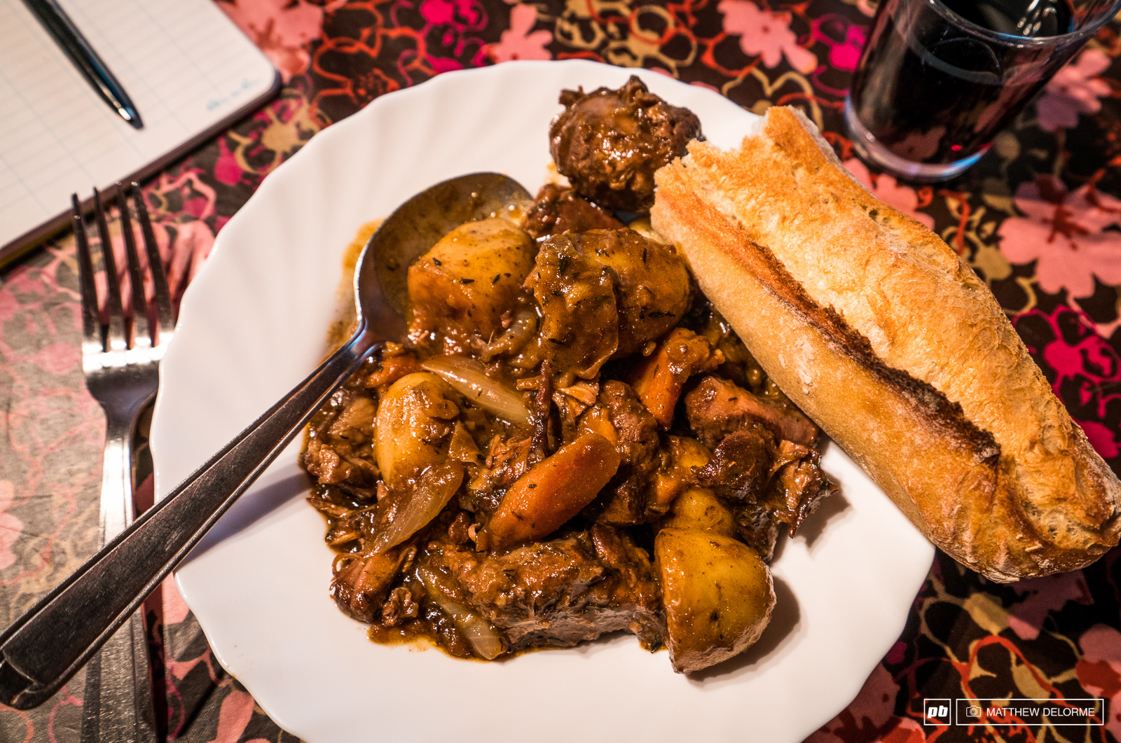 After a long day out in the rain a hearty country meal is the perfect way to warm up.