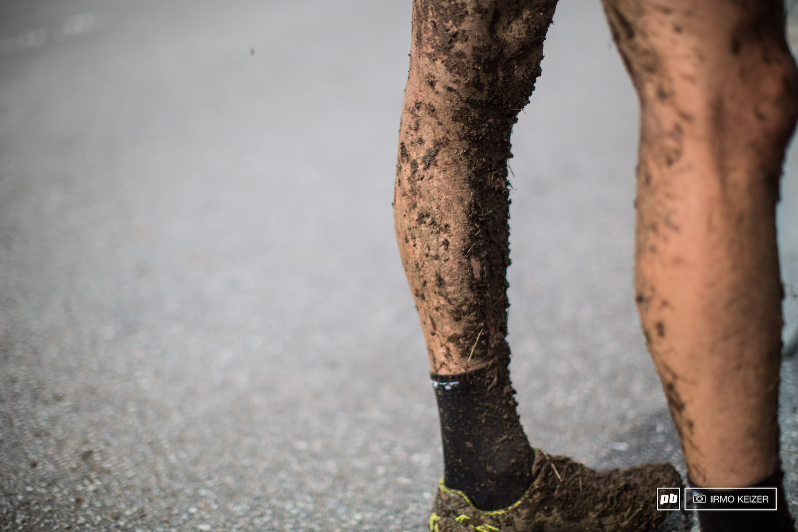 The course held up well to heavy rainfall last night although riders received their fair share of mud.
