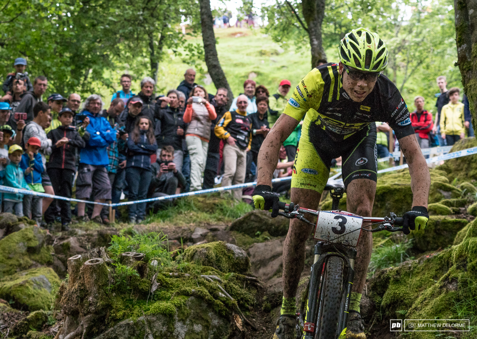 Maxime Marotte was one of there Frenchmen on the podium he took second today.