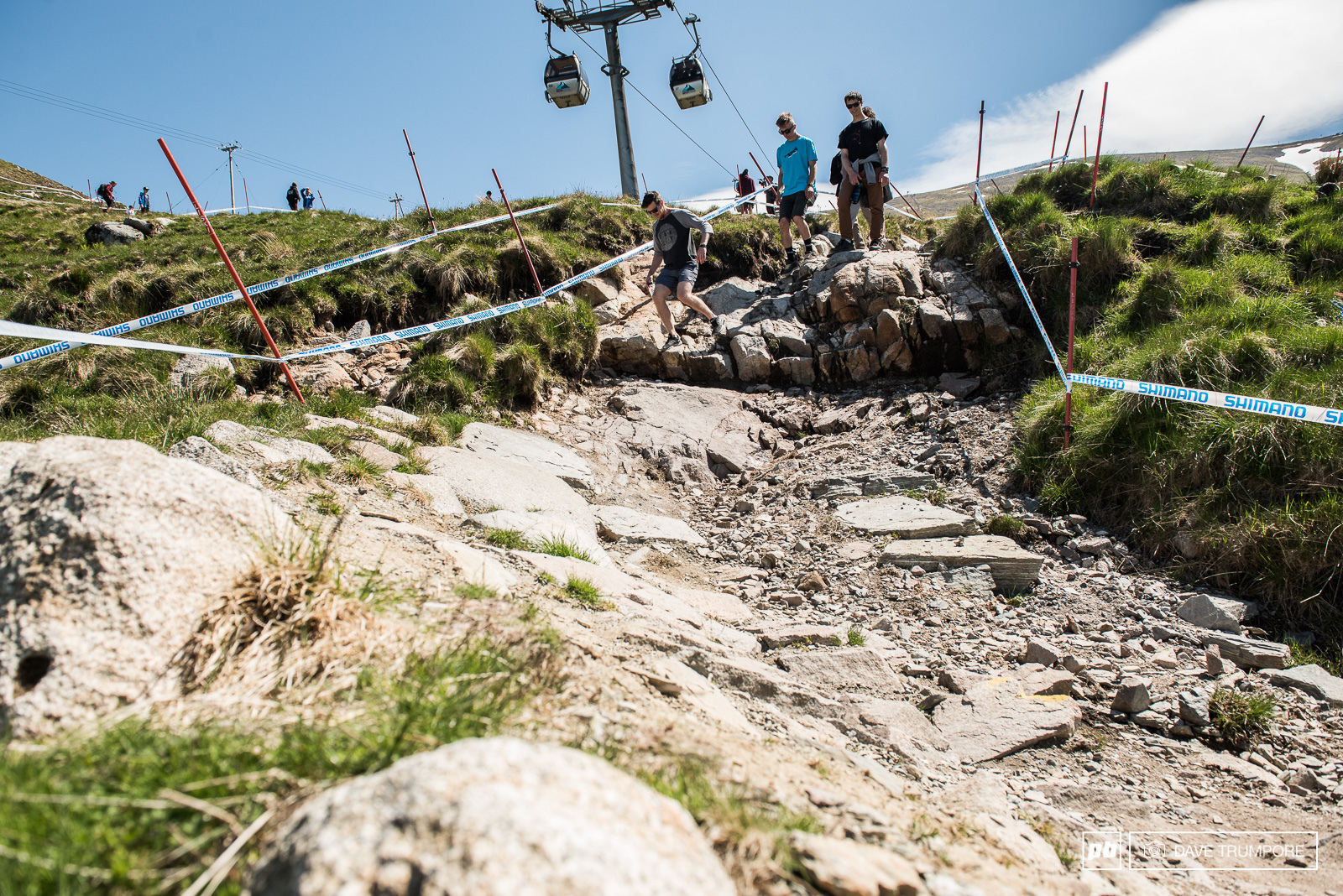 Track Walk - Fort William DH World Cup 2016 images