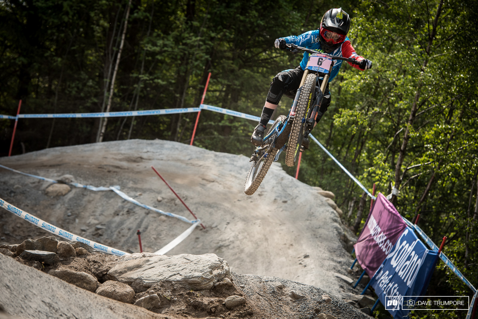 Emilie Siebenthaler hits the extra boost button en route to 5th.
