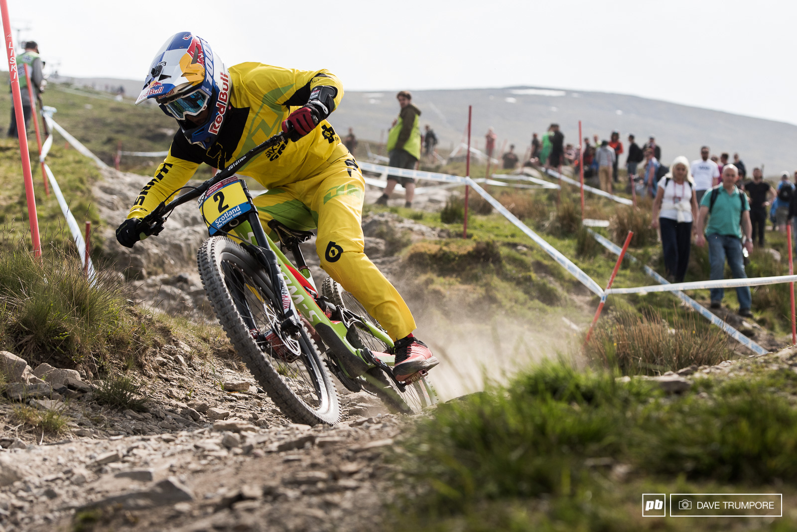 After missing Cairns due to injury Finn Iles backed up his win in Lourdes as the top junior qualifier here in Fort William.