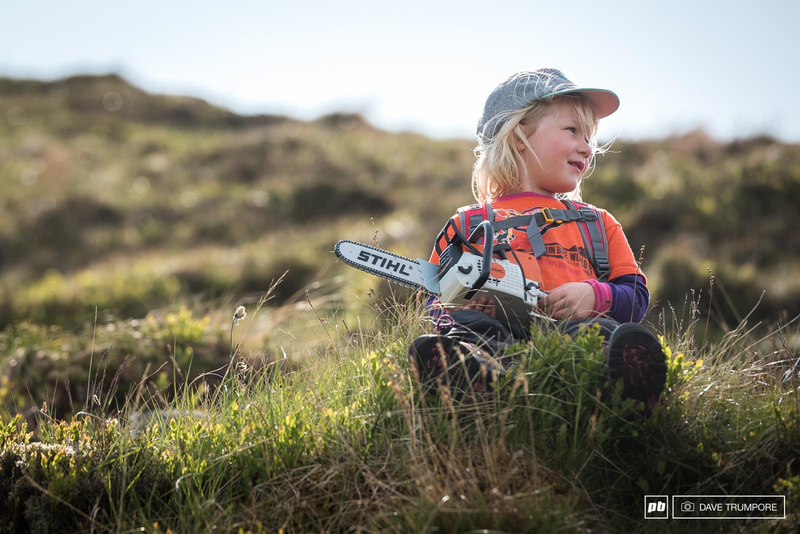 Stevie Smith inspiring the next generation.