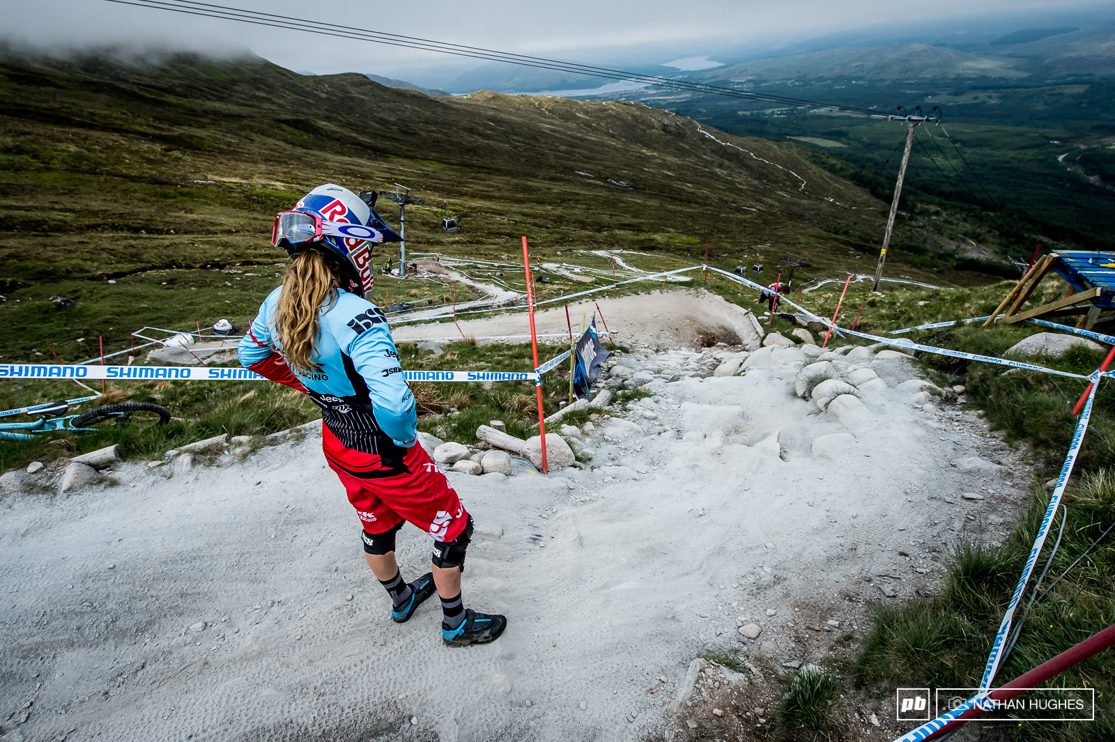 As if Rachel Atherton needs to get any faster... Then again if she does come off again tomorrow maybe she ll still have the margin to keep Manon at bay.