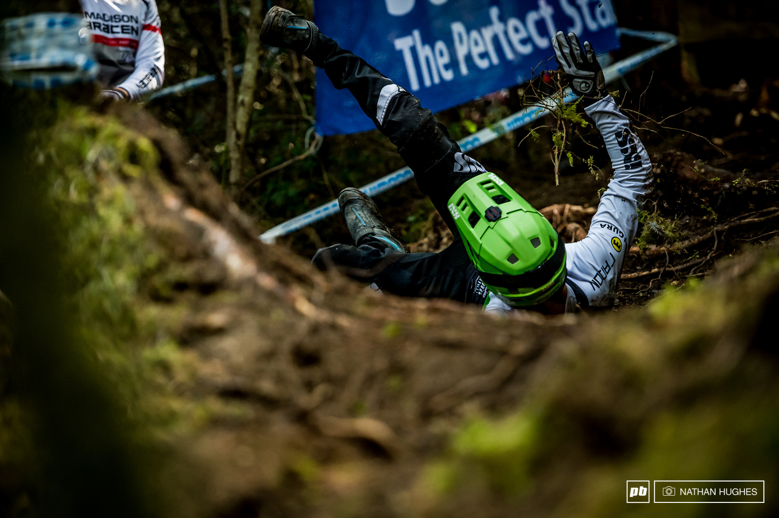 All kinds of riders hit the mossy deck in the new woods today no matter how low the number plate or how sharp the tech skills.