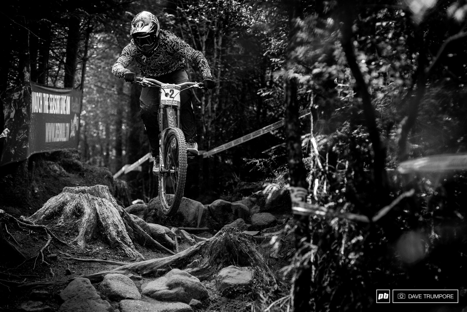 Troy always seems to do well in Fort William no matter the conditions and he battled his way onto the podium once again.