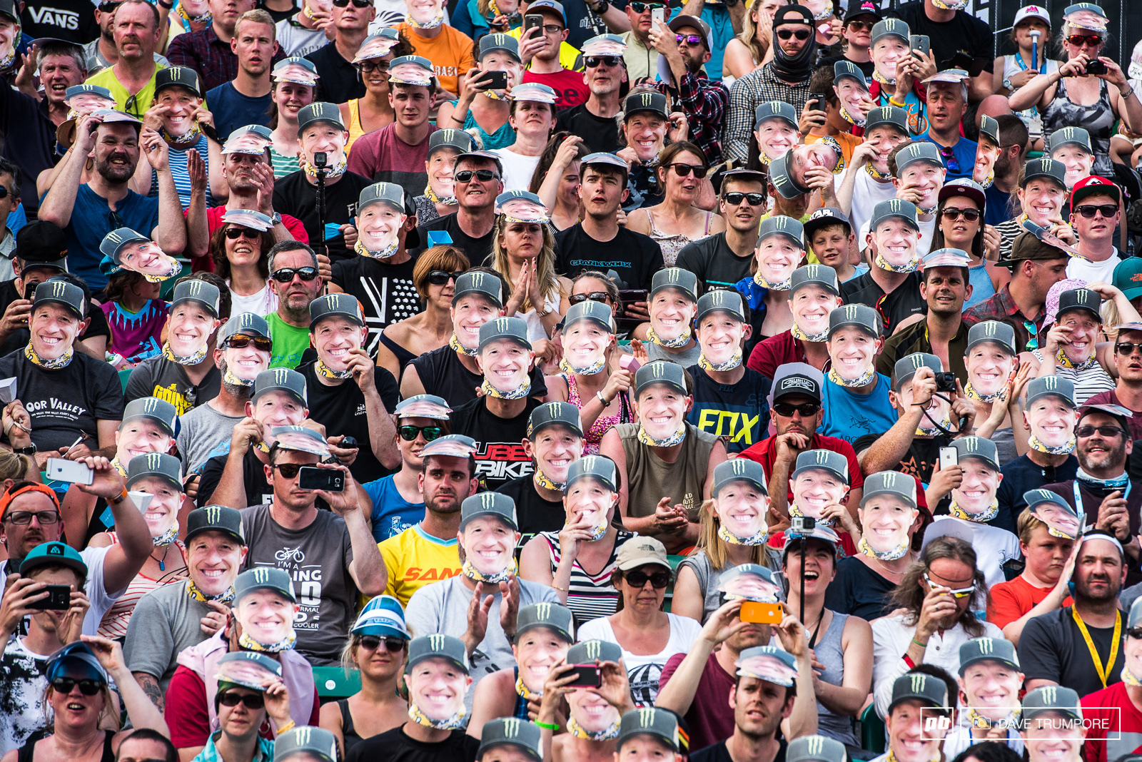 In the form of a few thousand Peaty faces