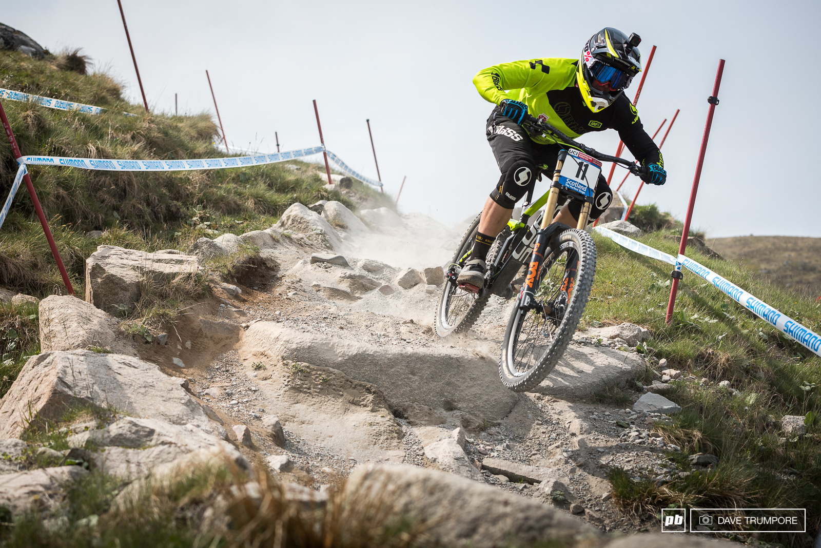 Local hero Greg Williamson makes it two top 10 World Cup finishes in a row.