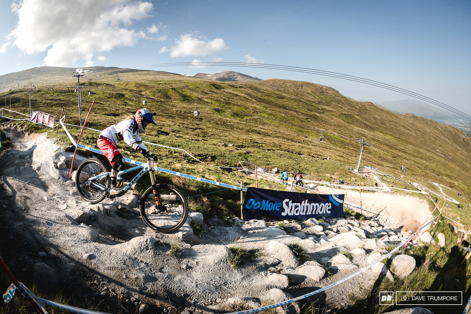 Dominant is the only way to describe Rachel Atherton s racing right now taking her 9th consecutive WC win in a row.