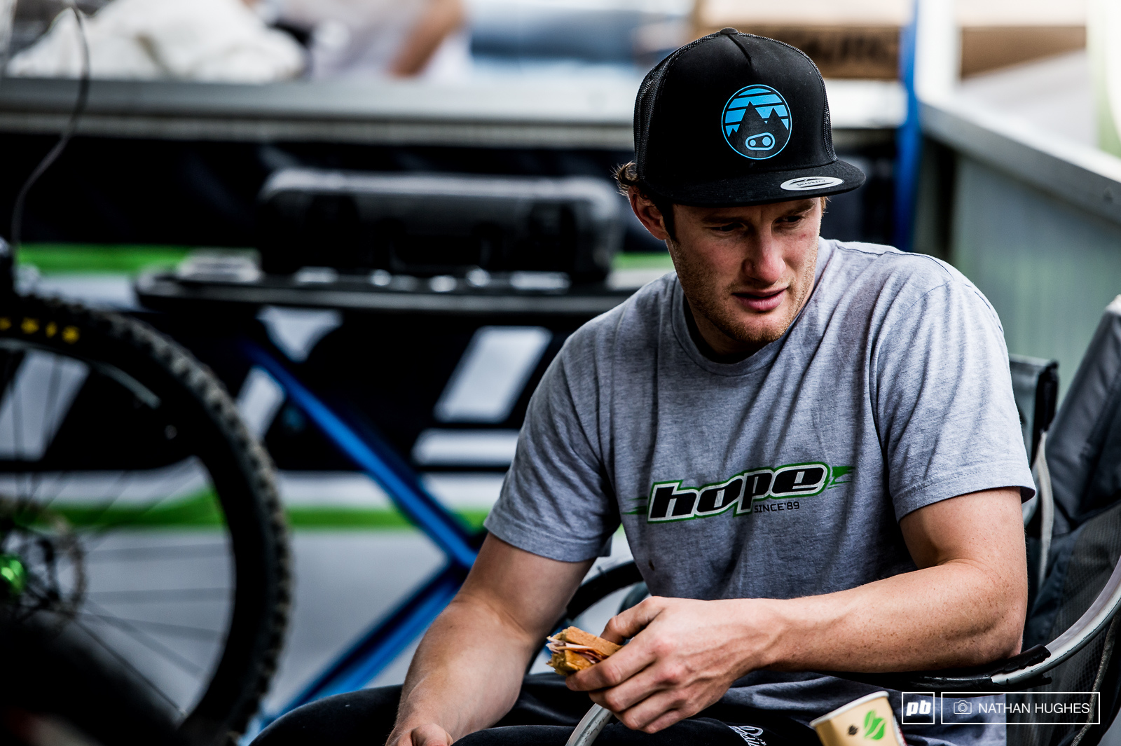 Is Adam Brayton on the edge of something big Let s not jinx him with speculation but hopefully with enough ham sandwiches he might be able pull out another heroic result here in Leogang.