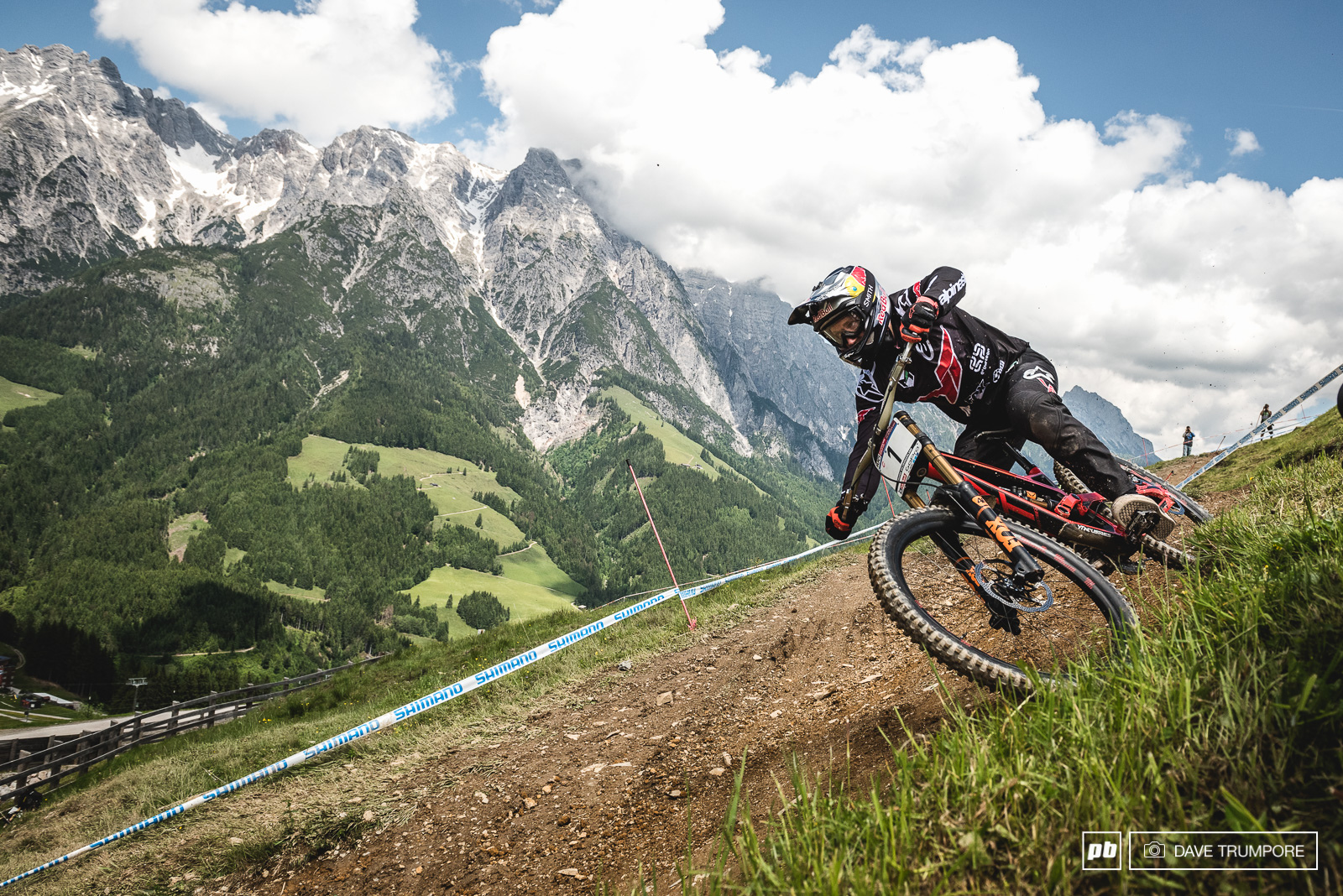 What new challenge will Leogang serve up for Aaron Gwin this year you ask Well it look like its going to be a heavy dose of rain and mud which has never been his forte but he has overcome worse here so you really never know.