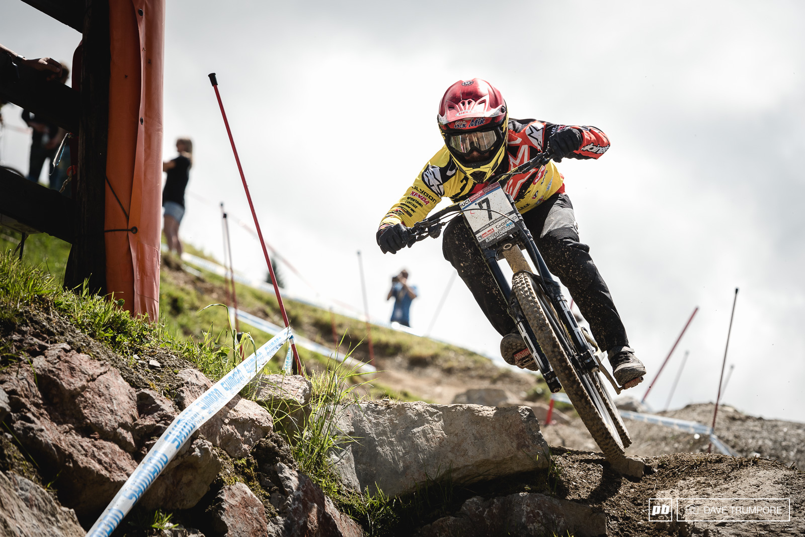 Mick Hannah hasn t raced here since 2013 due to injuries but if you look back through the results you ll see he took 3rd that year. With a fourth in timed training he looks to be on pace once again in Leogang.