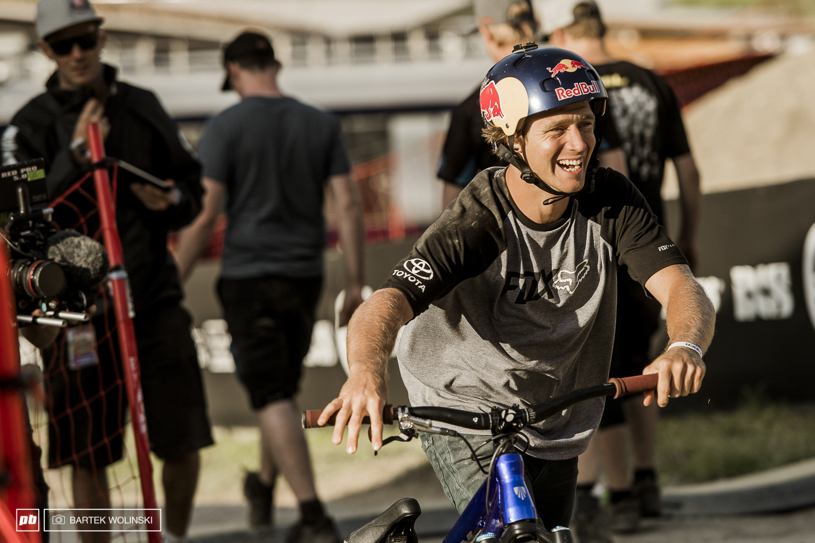 Drew visited Leogang straight after X Games in Austin but his MTB debut is still getting on slowly. Despite being bit sore after Swatch Rocket Air he managed to pull massive flatspins but it wasn t enough to even scratch the final list.