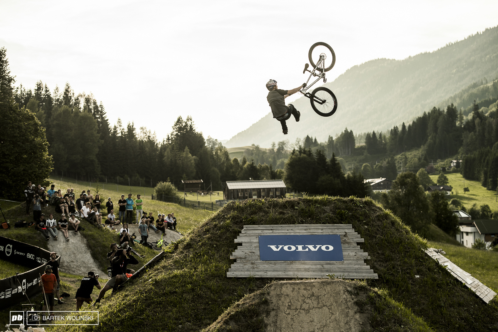 Anton Thelander missed his luck on flip opposite tailwhip and ate dirt hard. Heal fast buddy
