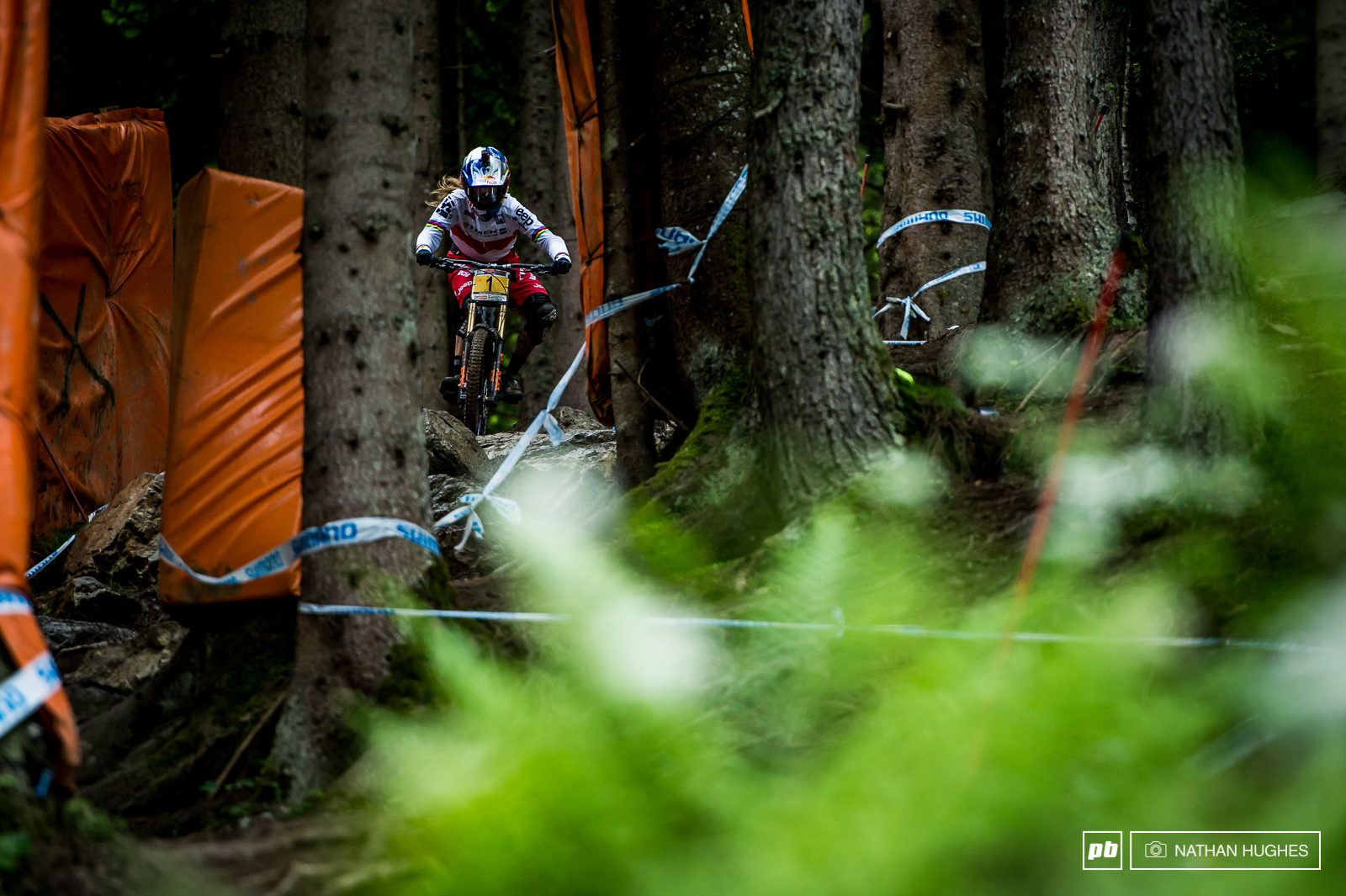 Rachel Atherton had a shocker up there today only managing to take the qualie win by 8.5 seconds. A poor performace we re sure you ll agree.