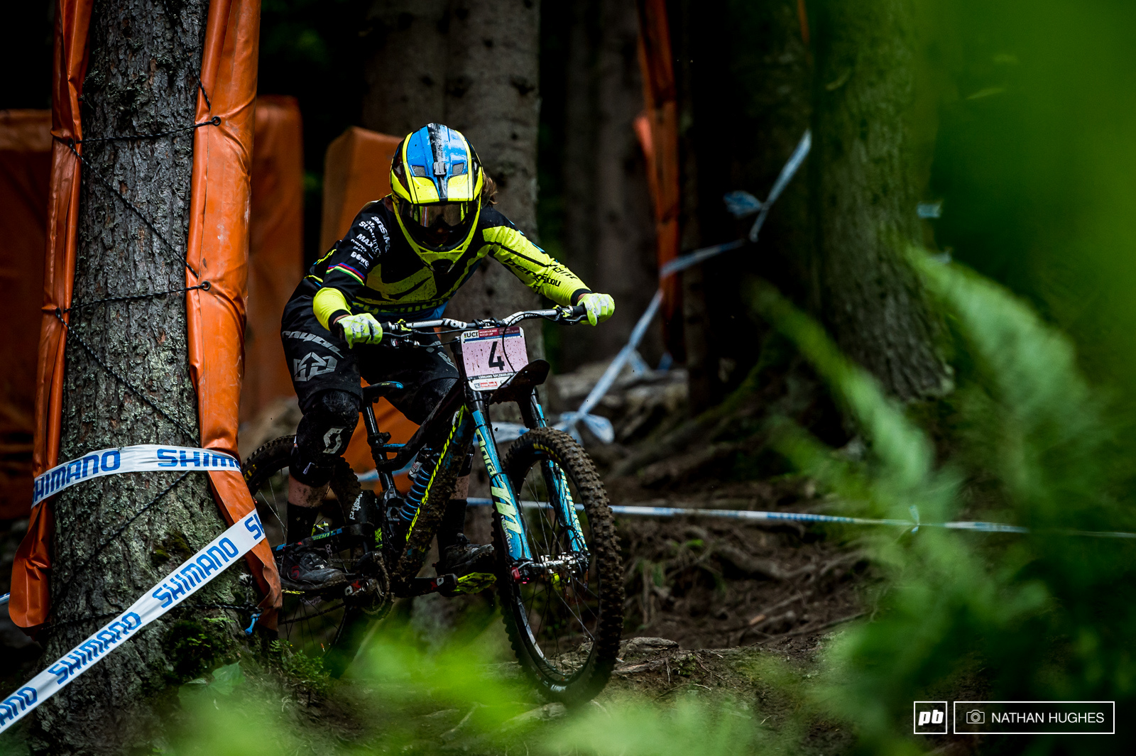2012 Leogang destroyer Morganne Charre on route to 6th.