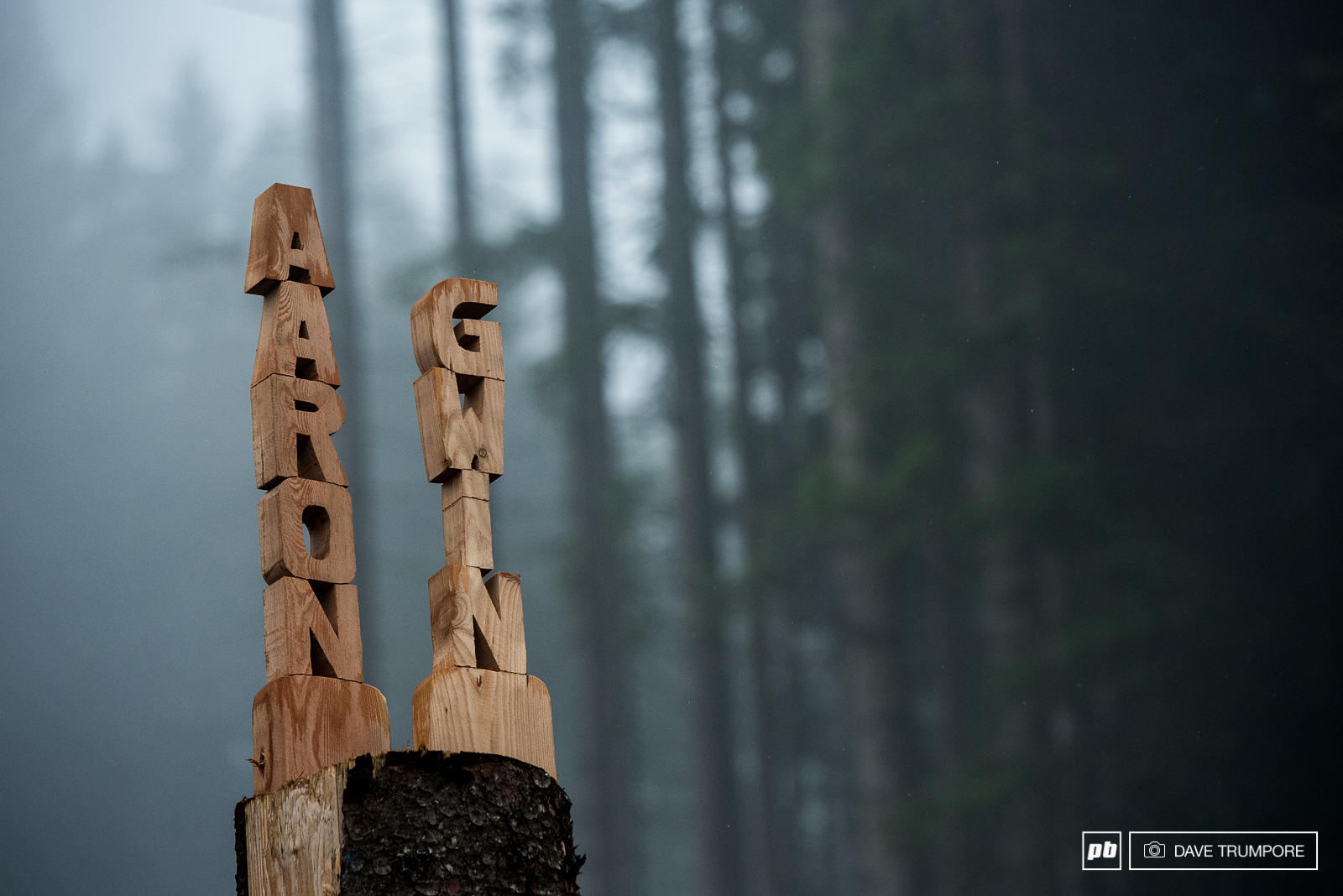 Aaron Gwin is looking to leave his mark on Leogang for the second year in a row.