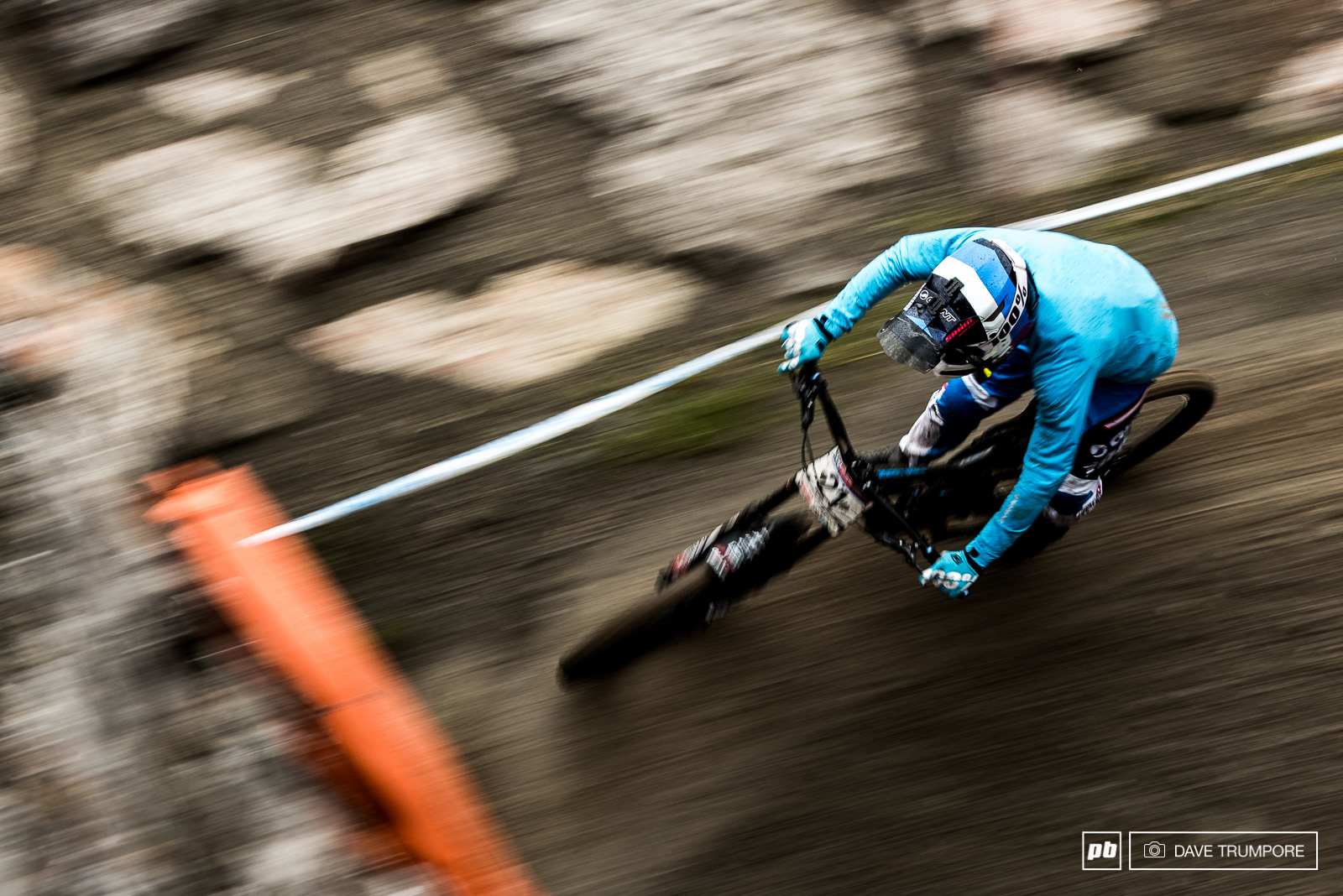 After a promising result last week first year Elite rider Alex Marin struggled in the mud of Leogang today.