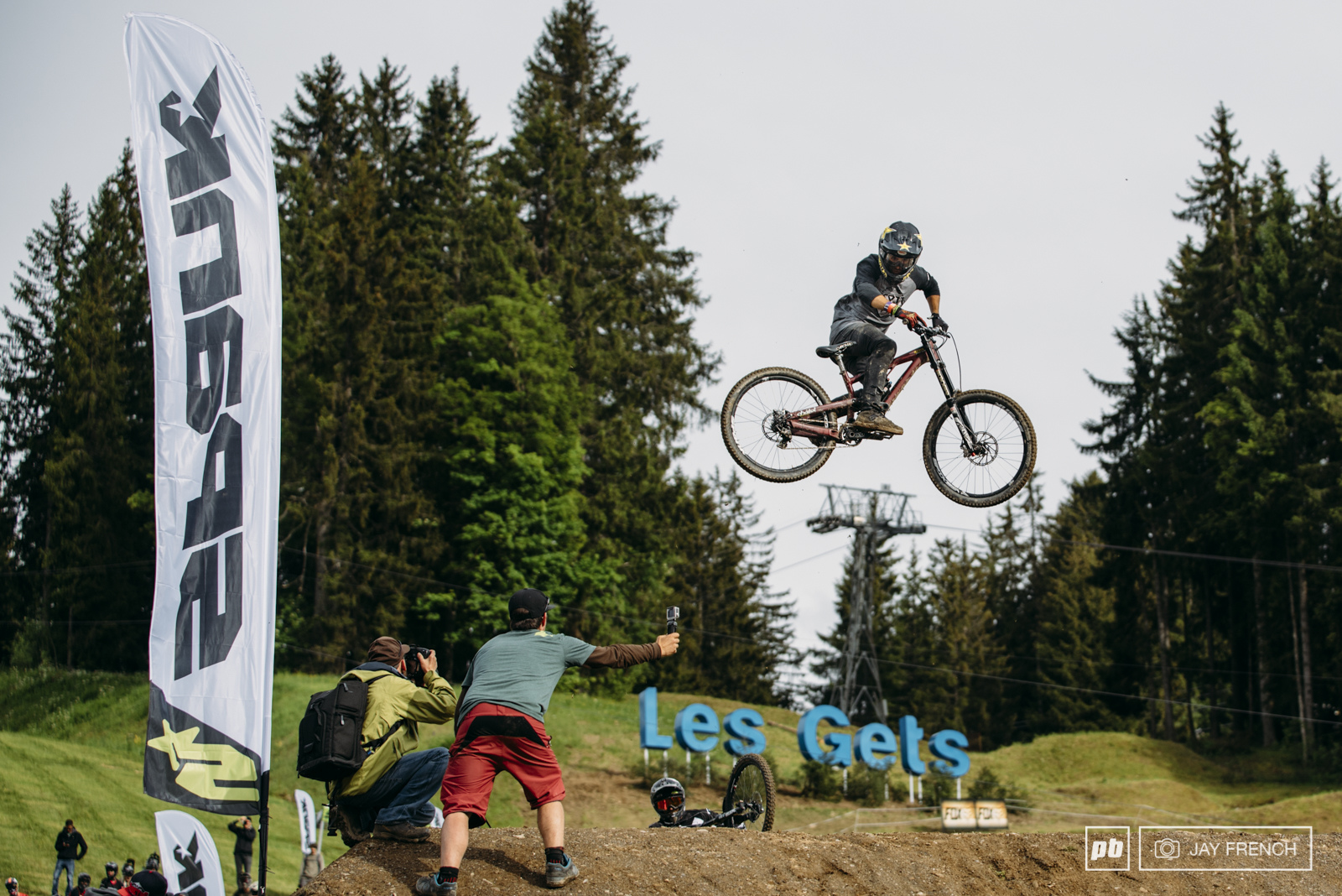 Louis Reboul - Scott Voltage FR - Crankworx 2016