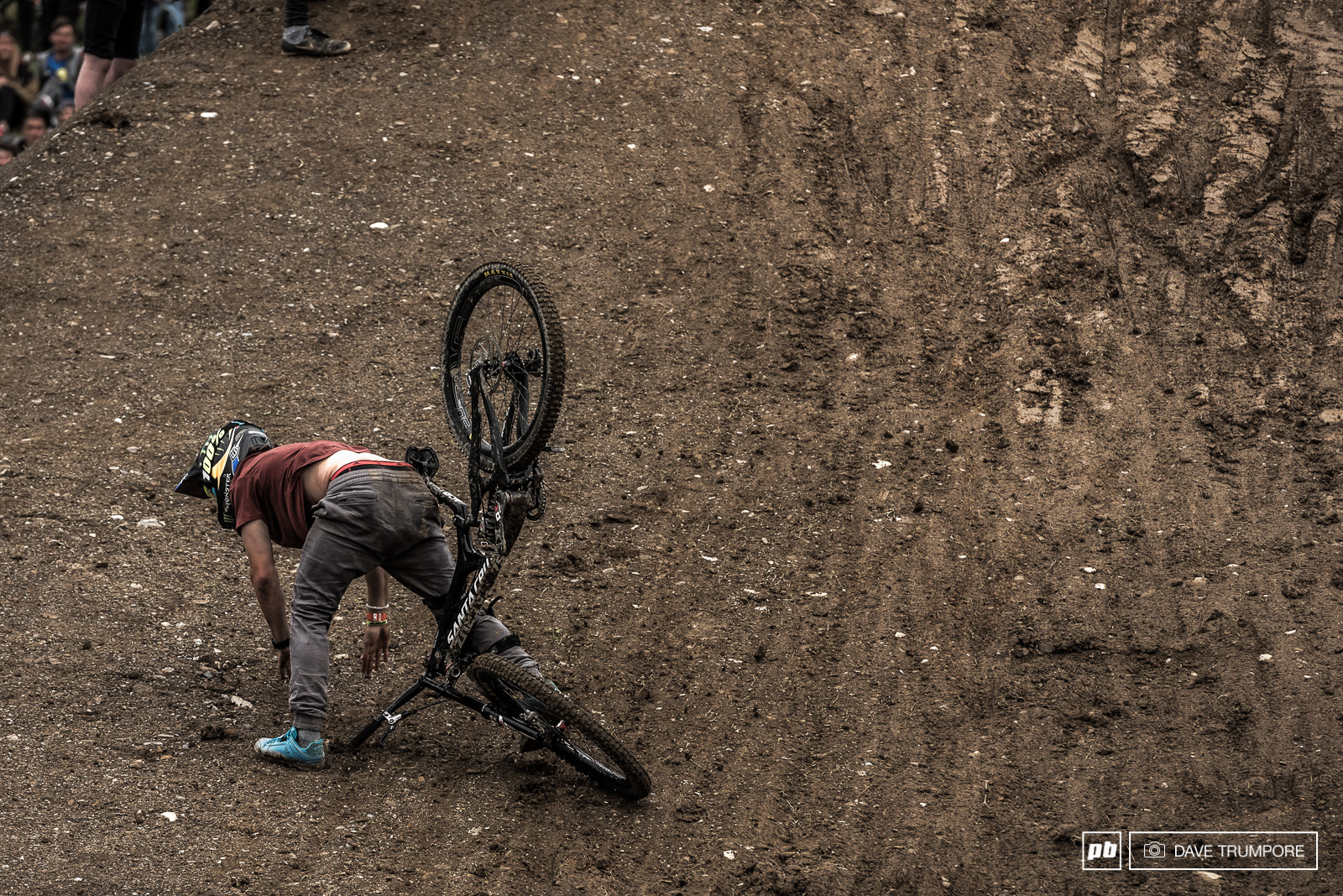 The rutted out landing was a bit of a challenge at times.