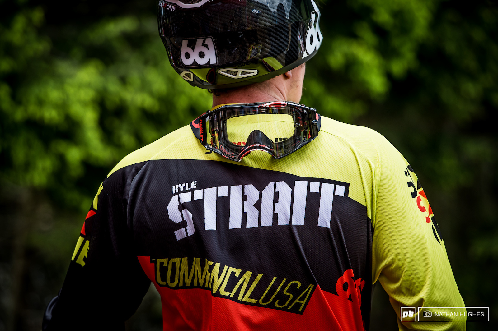 Kyle Strait was pipped by Slavik in New Zealand and will be out for retribution here in LG.