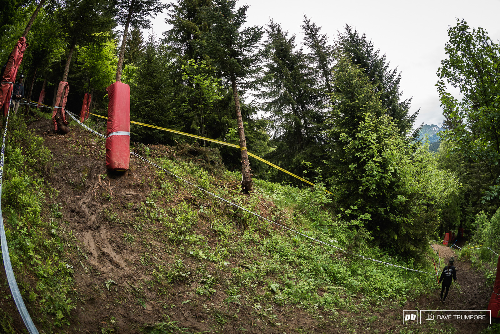 We can t wait to see riders drifting through this steep off camber.